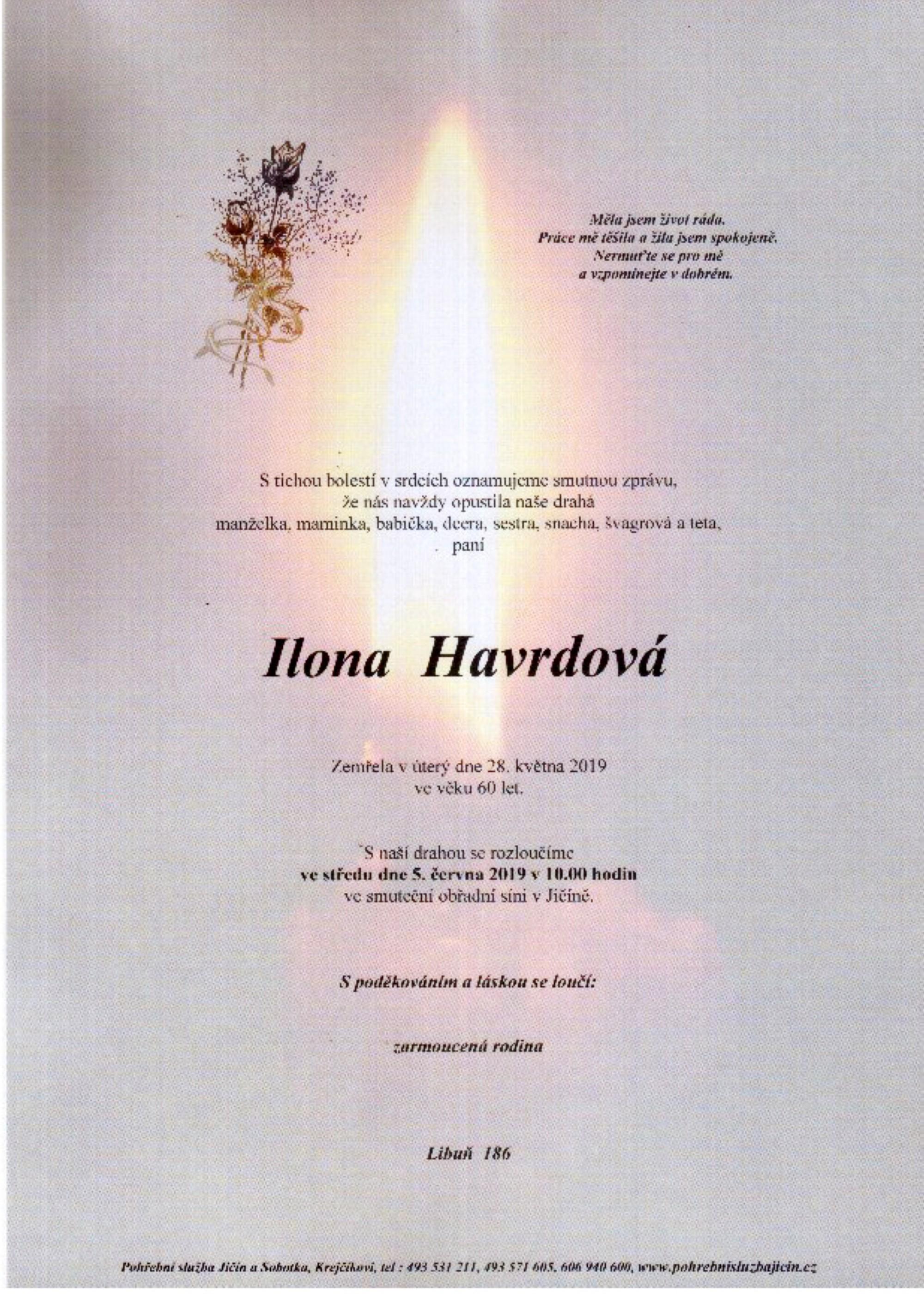 Ilona Havrdová