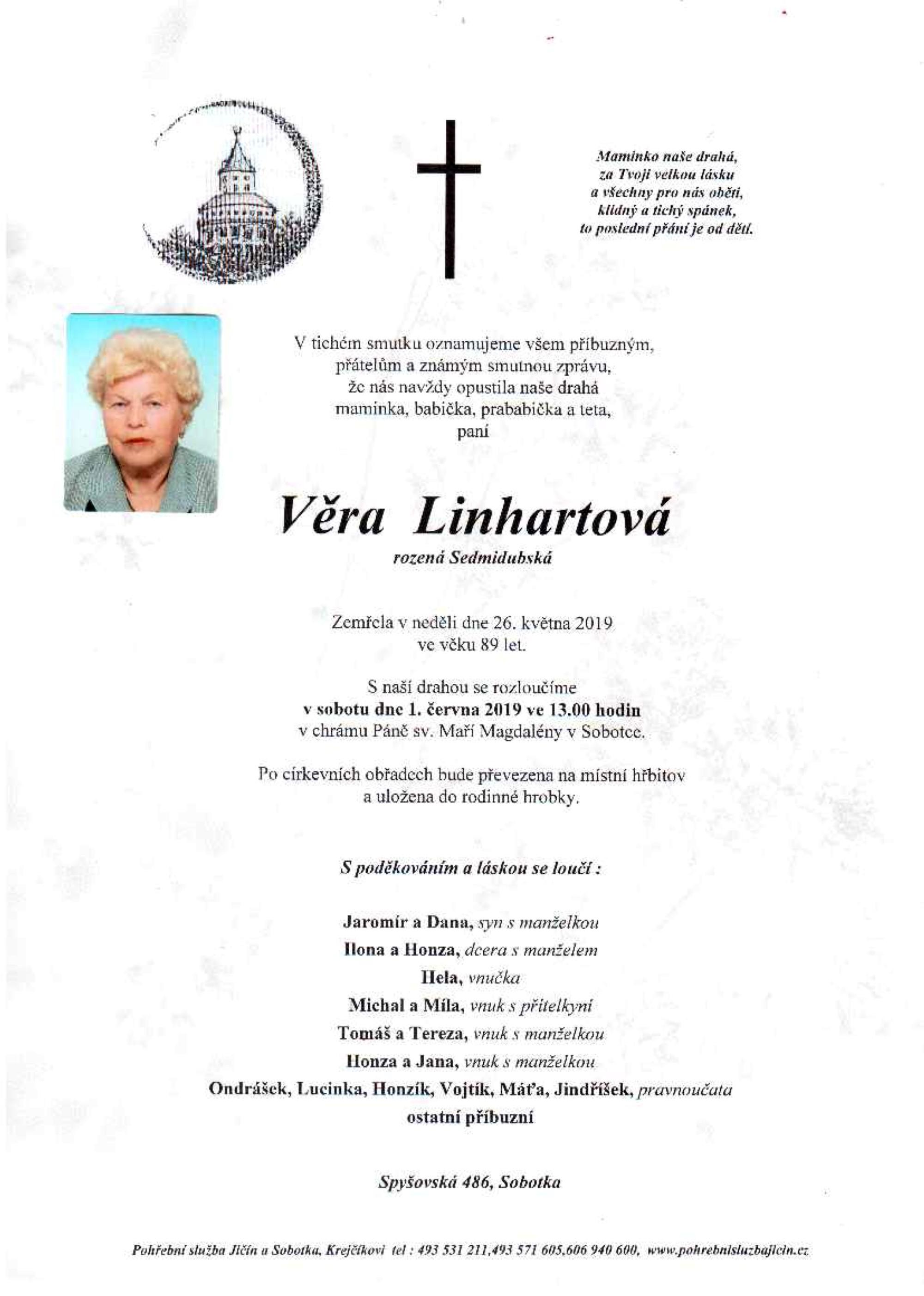 Věra Linhartová