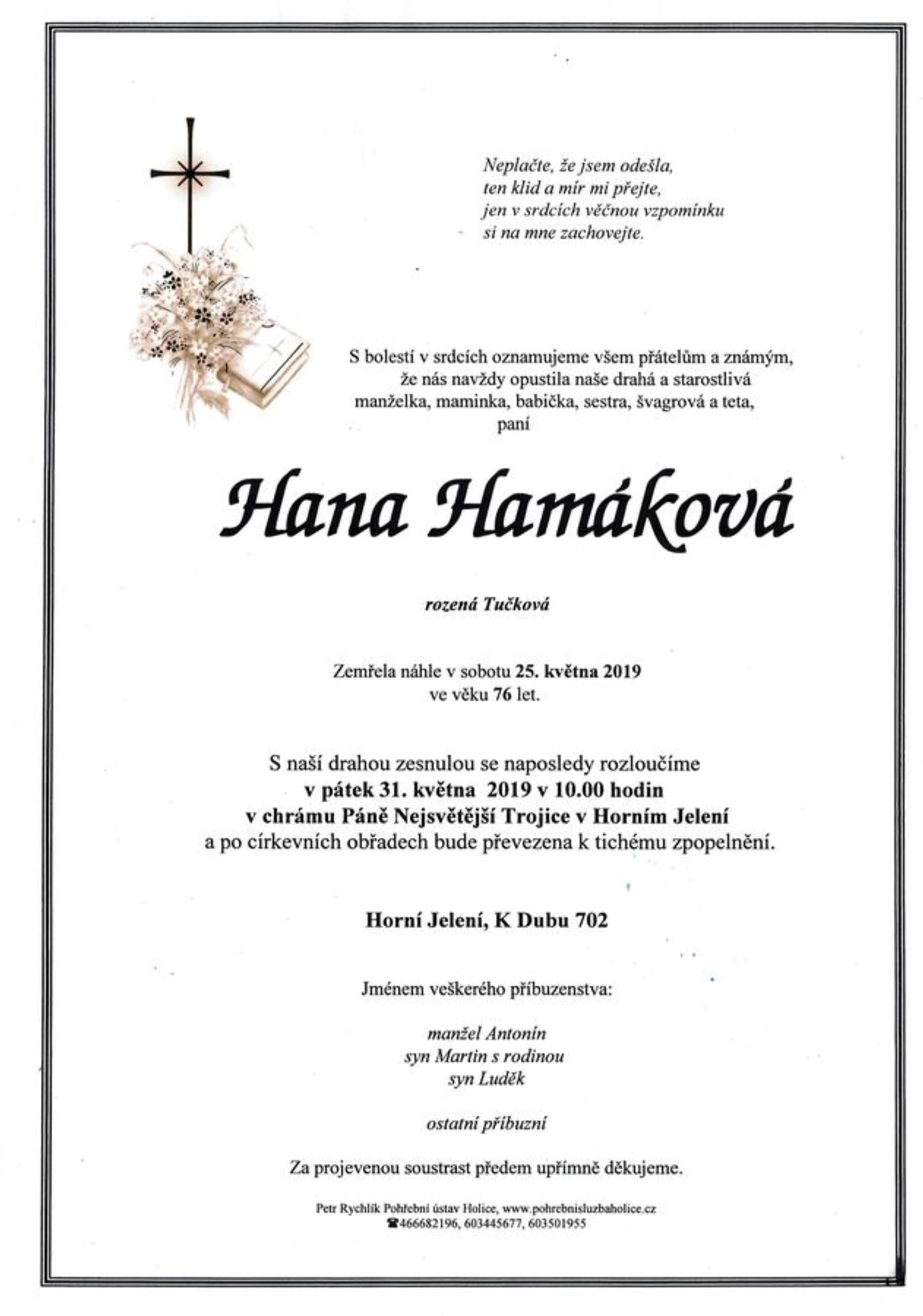 Hana Hamáková