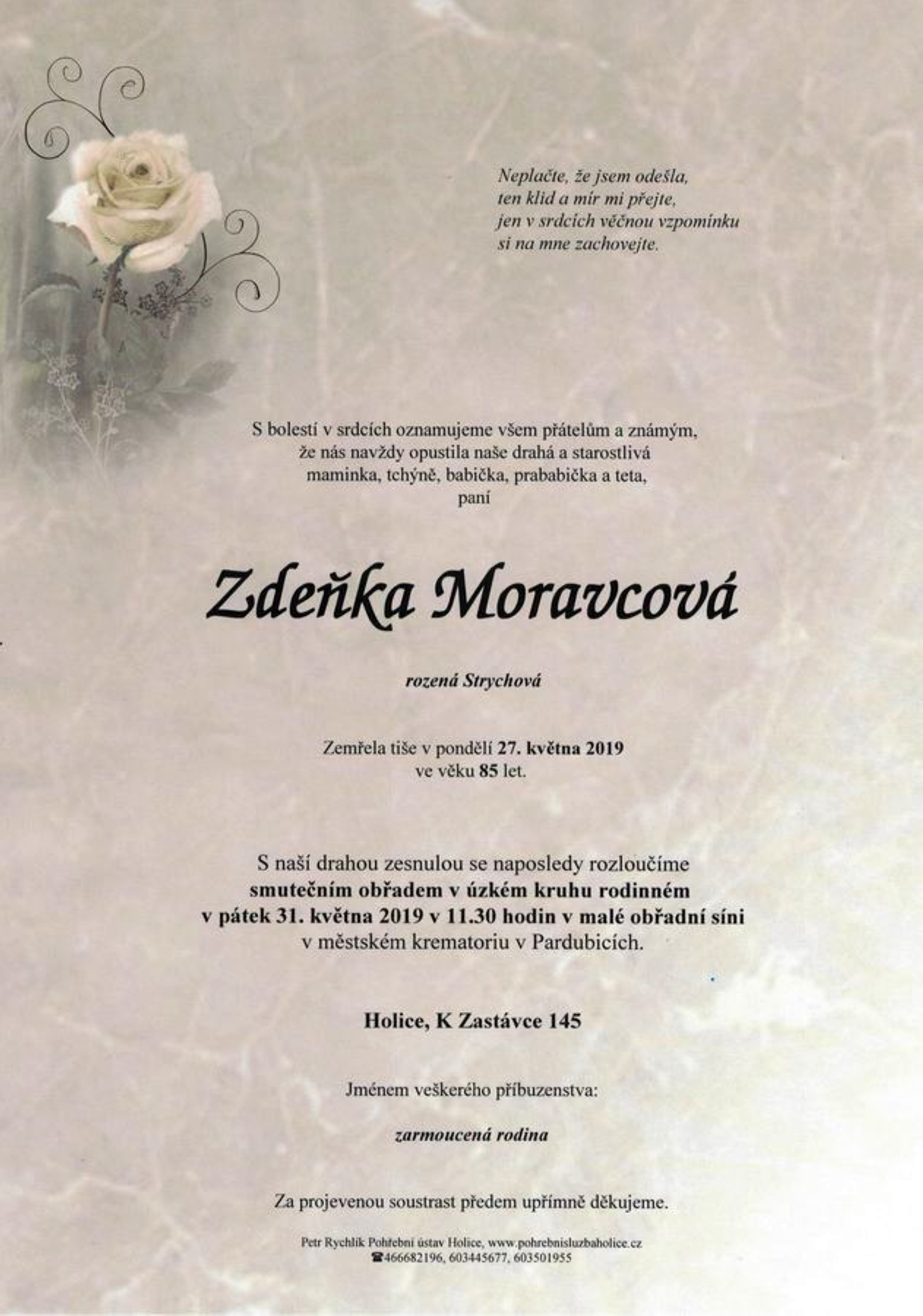 Zdeňka Moravcová