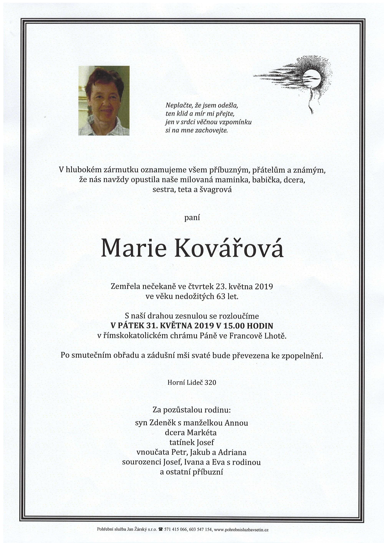Marie Kovářová