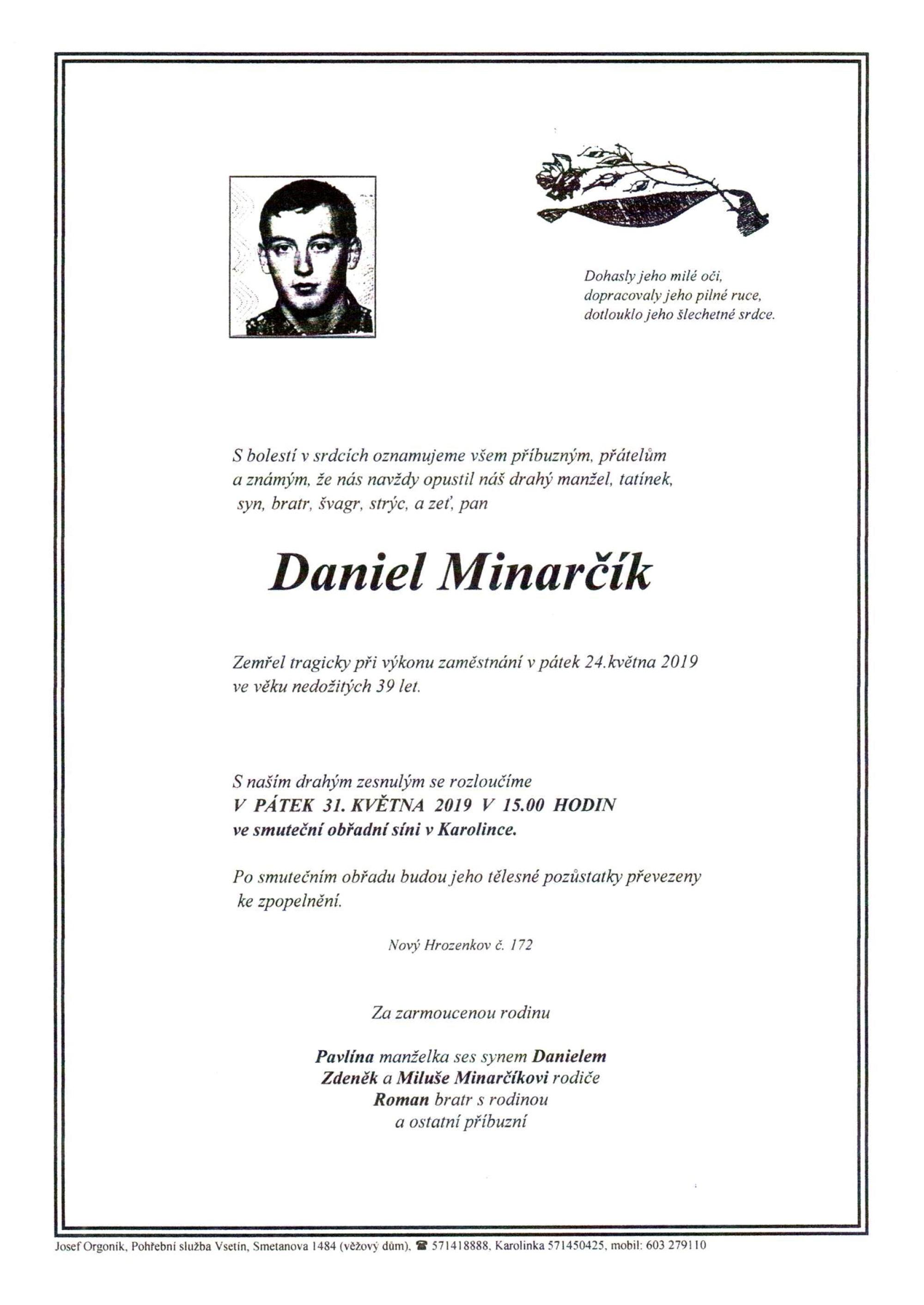 Daniel Minarčík