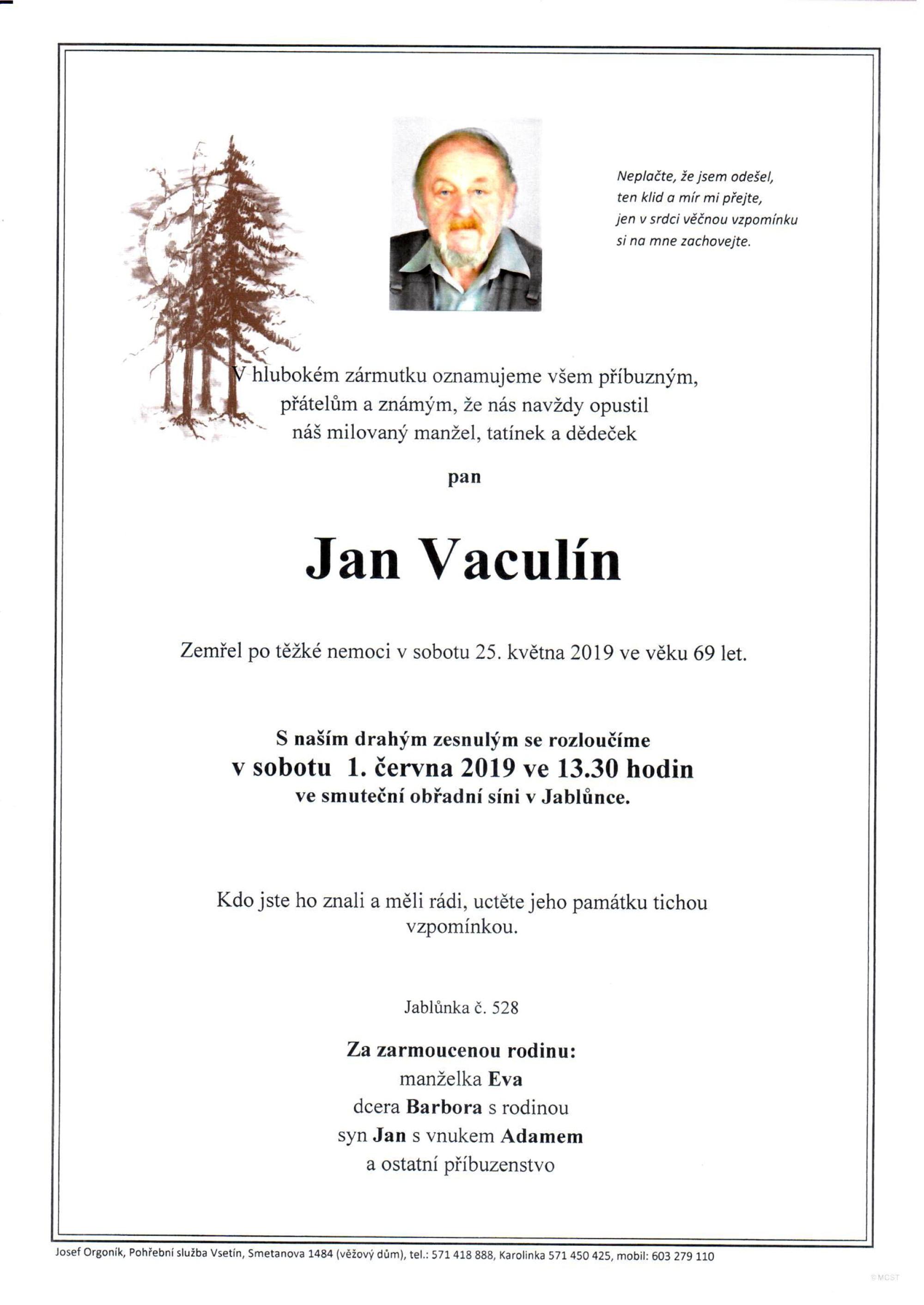 Jan Vaculín