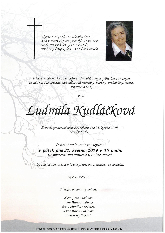 Ludmila Kudláčková
