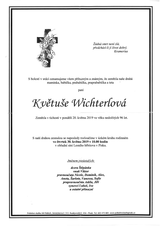 Květuše Wichterlová
