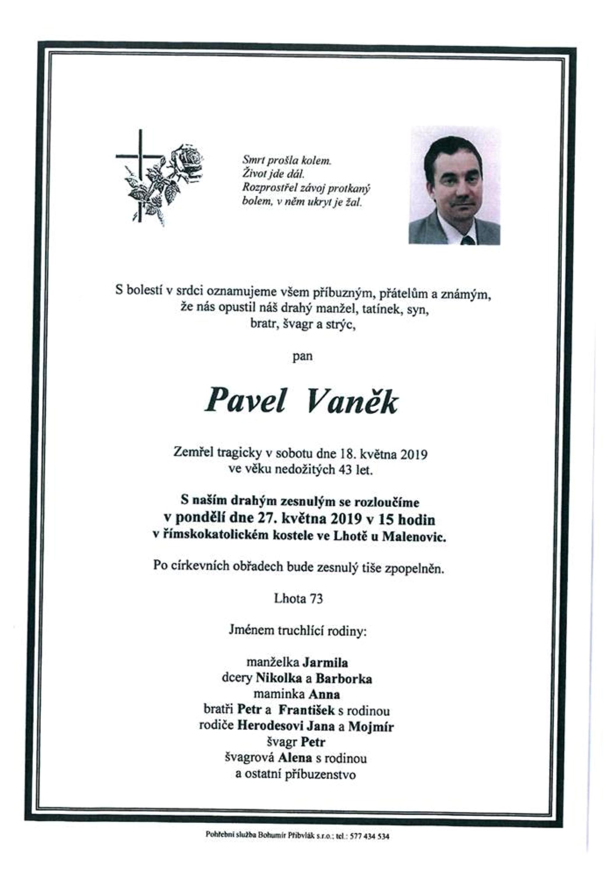 Pavel Vaněk