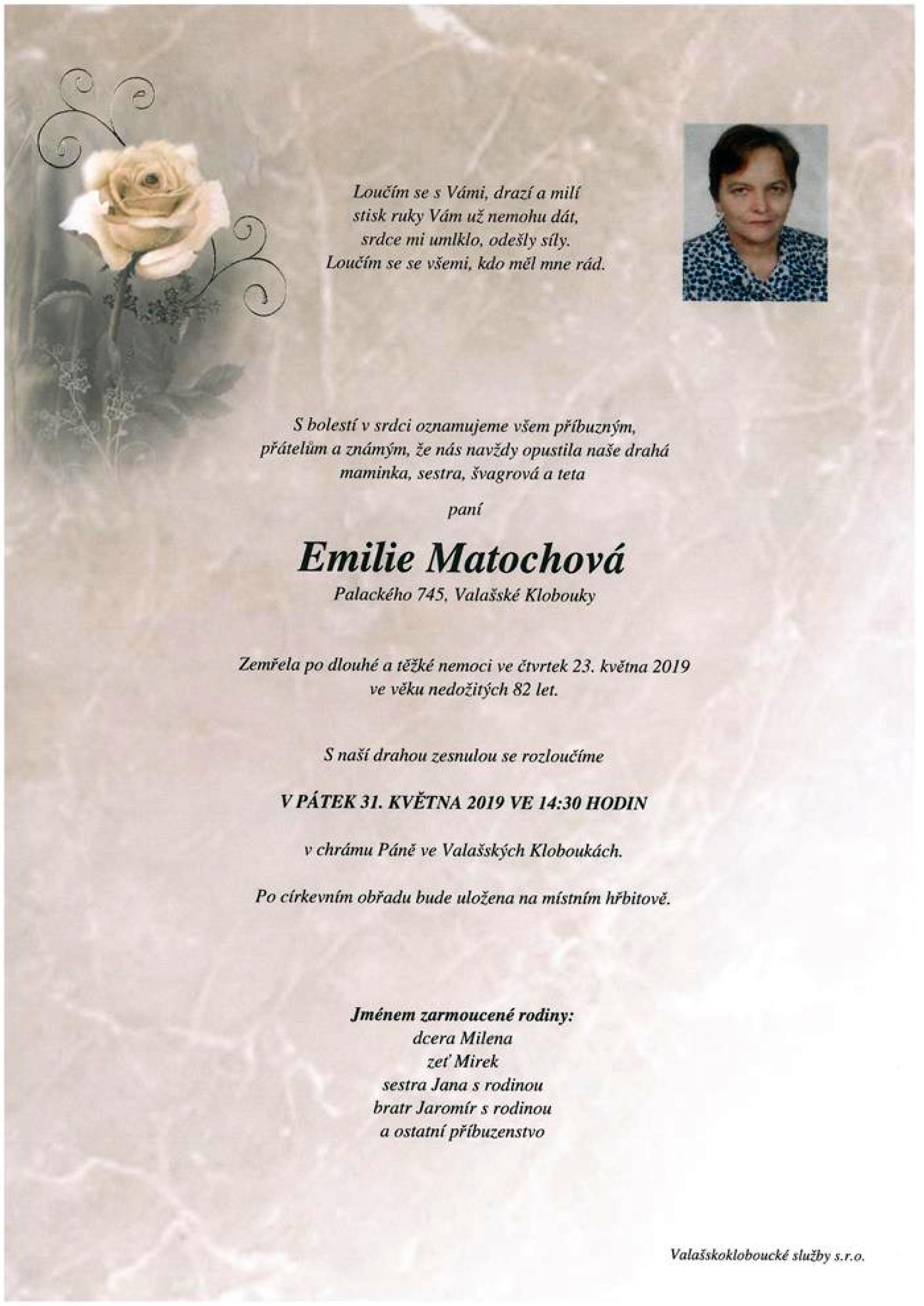 Emilie Matochová