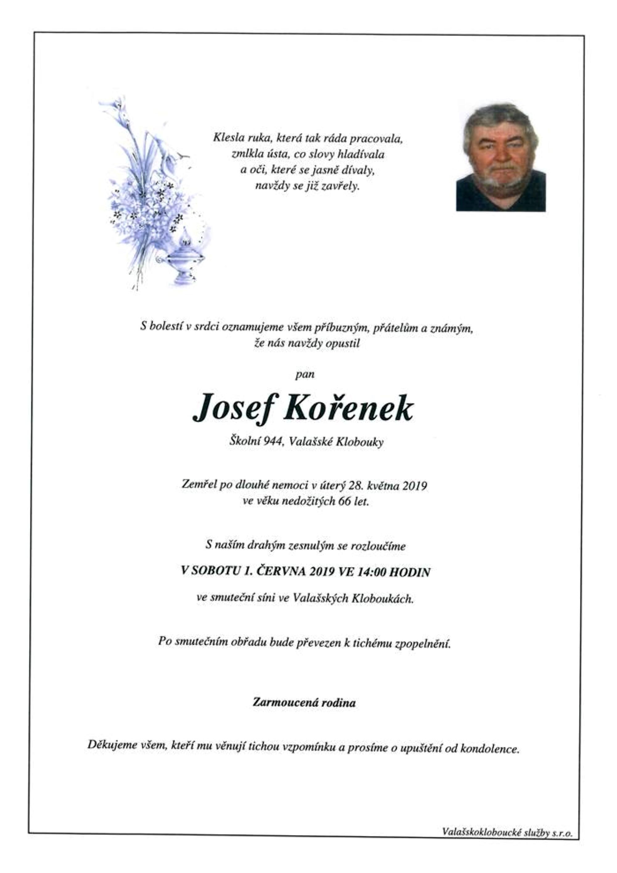 Josef Kořenek