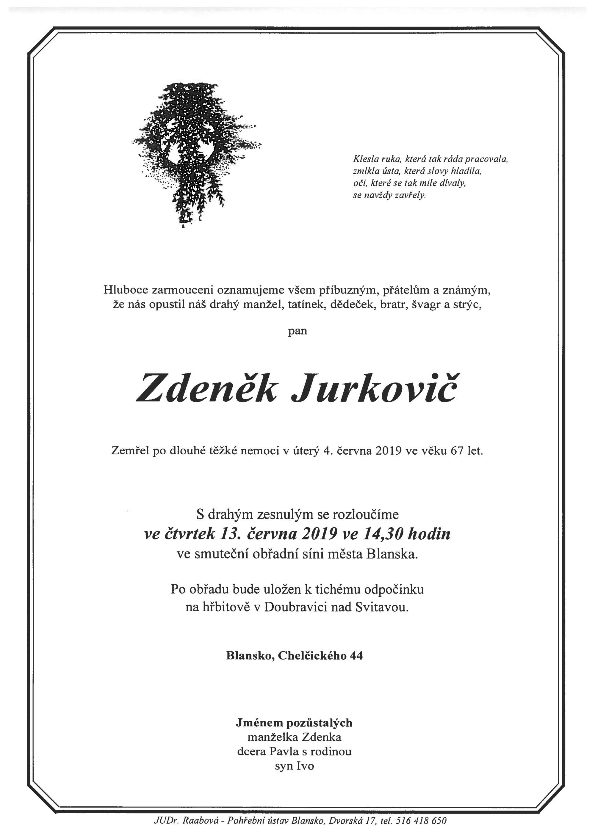 Zdeněk Jurkovič
