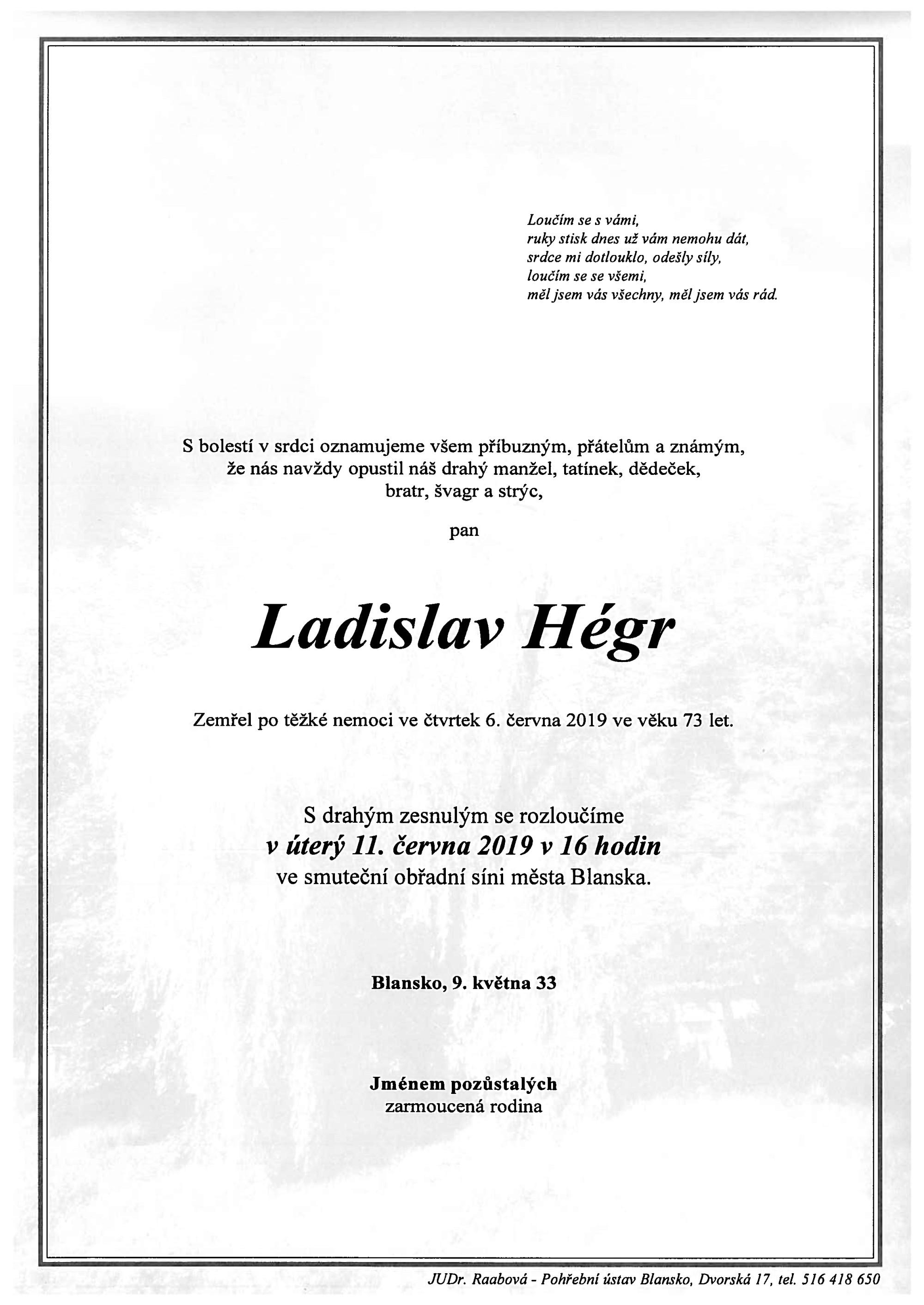 Ladislav Hégr