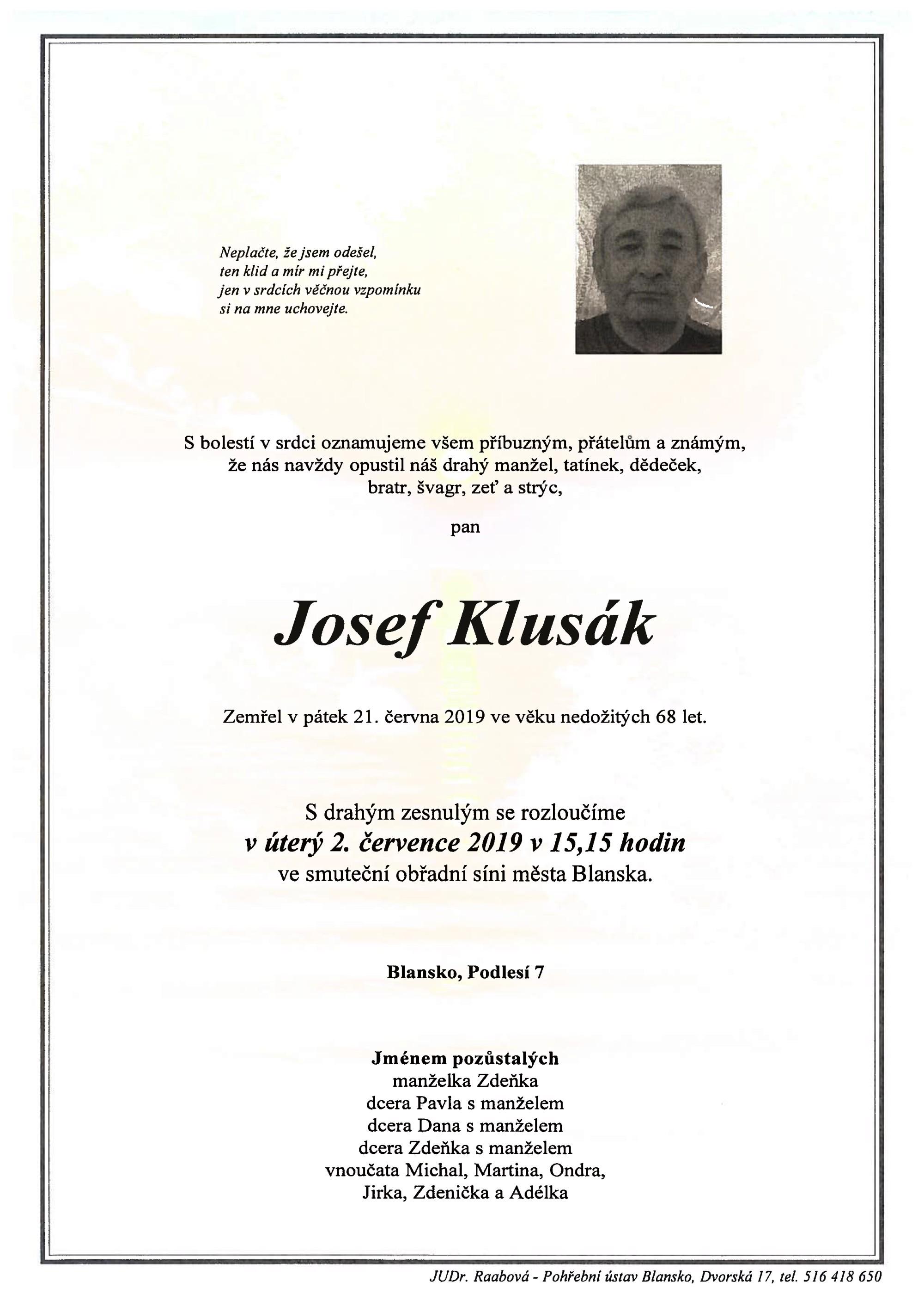 Josef Klusák