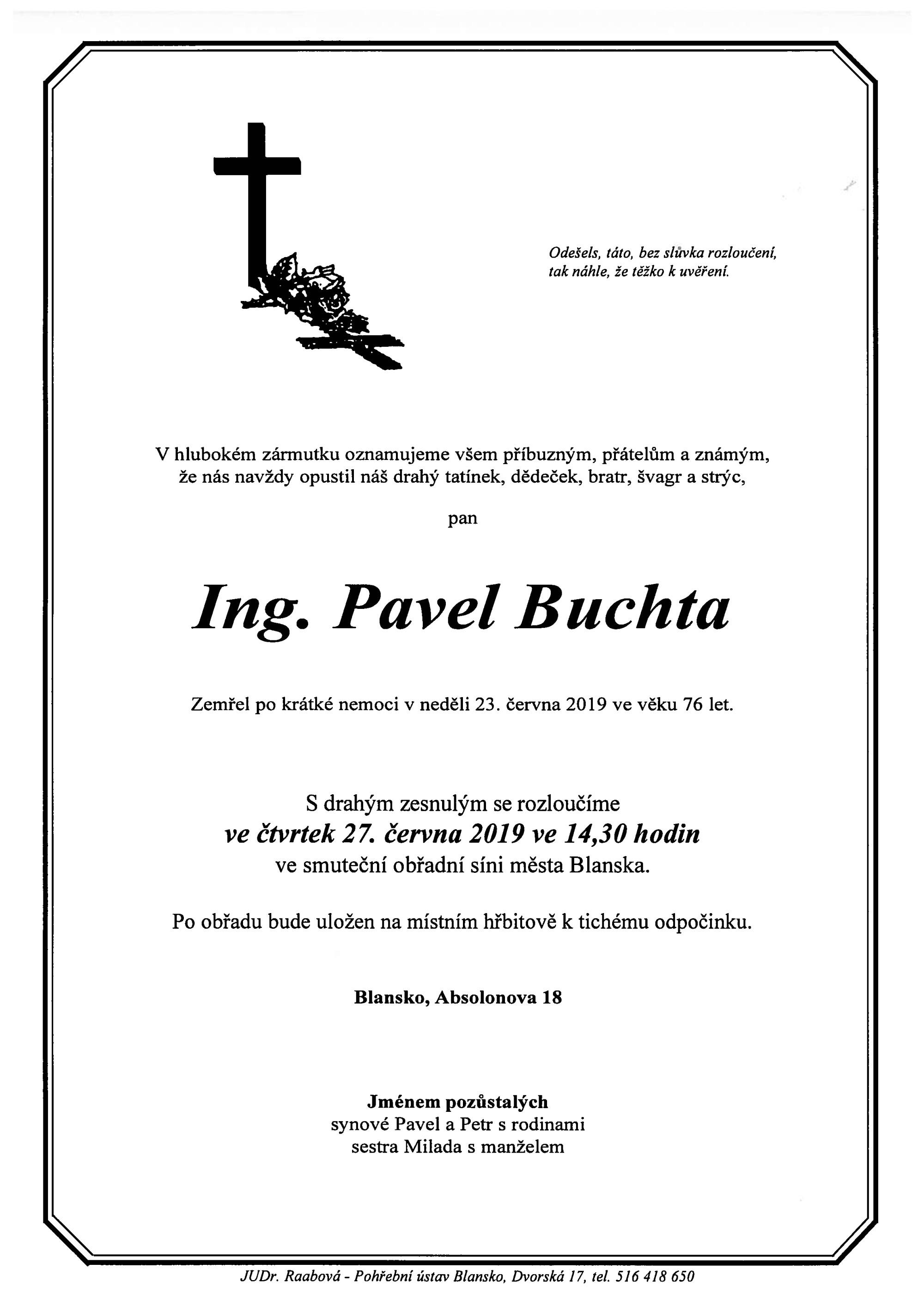 Ing. Pavel Buchta