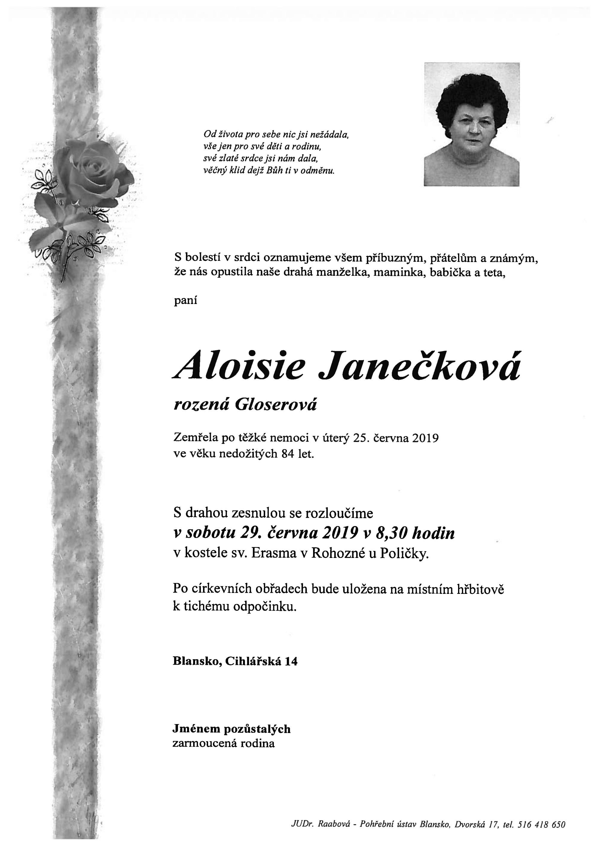 Aloisie Janečková