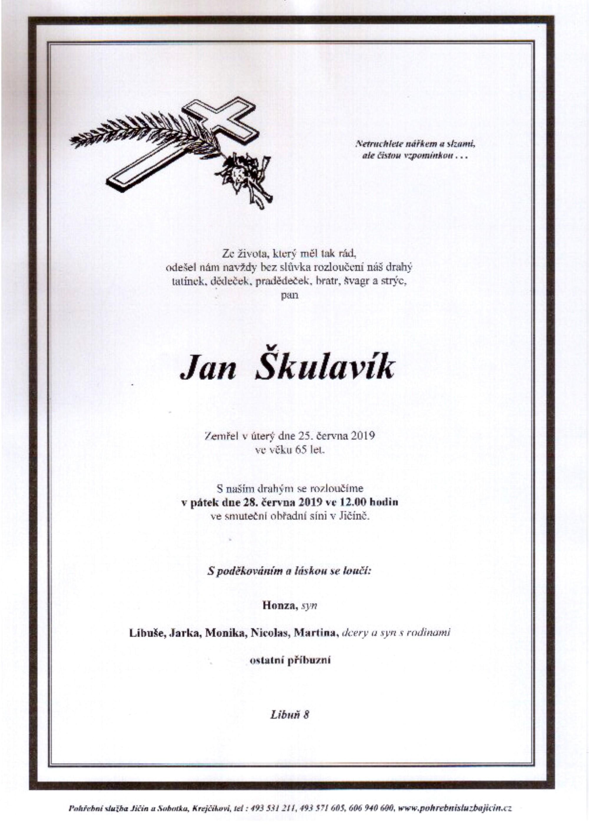 Jan Škulavík