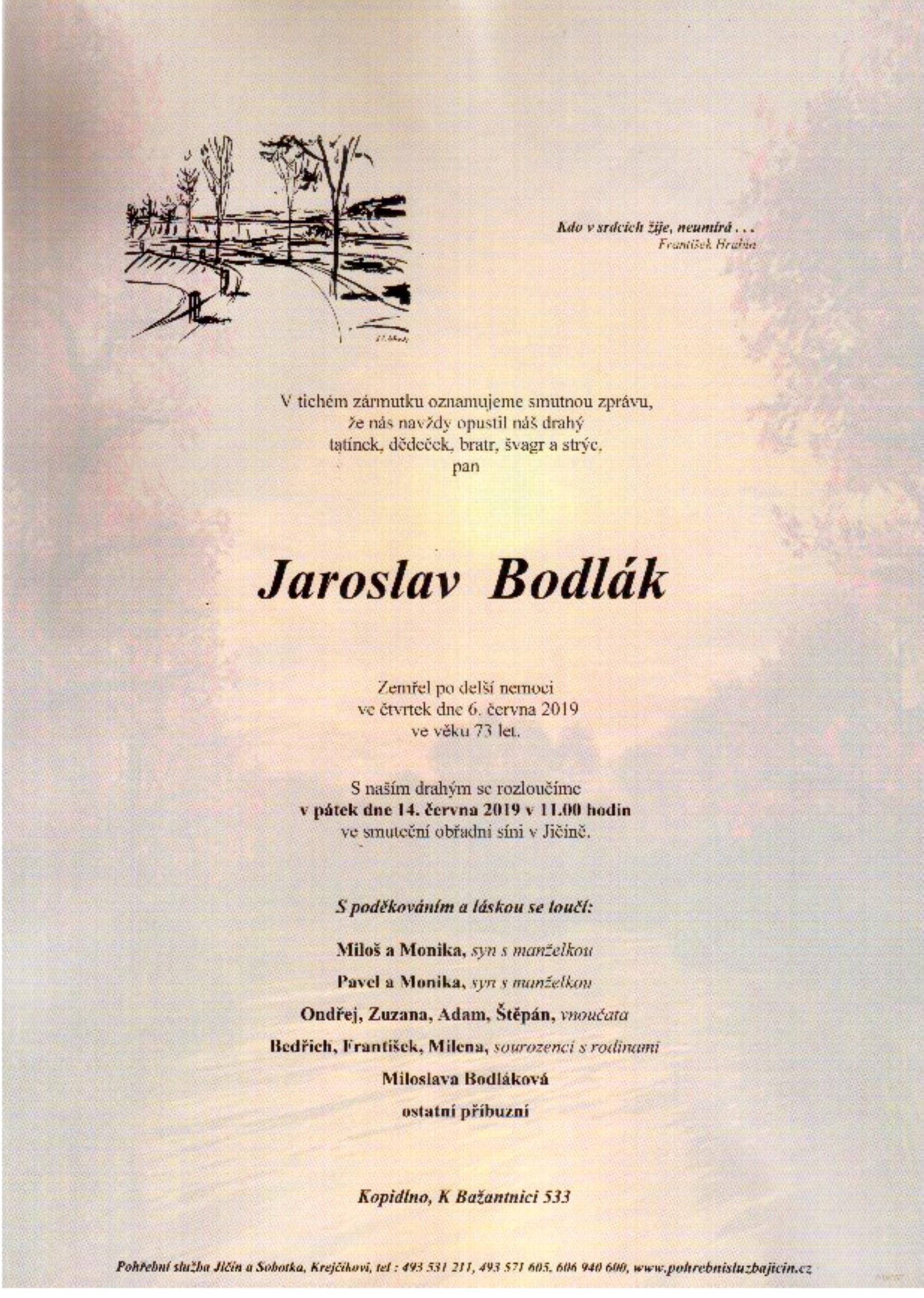 Jaroslav Bodlák