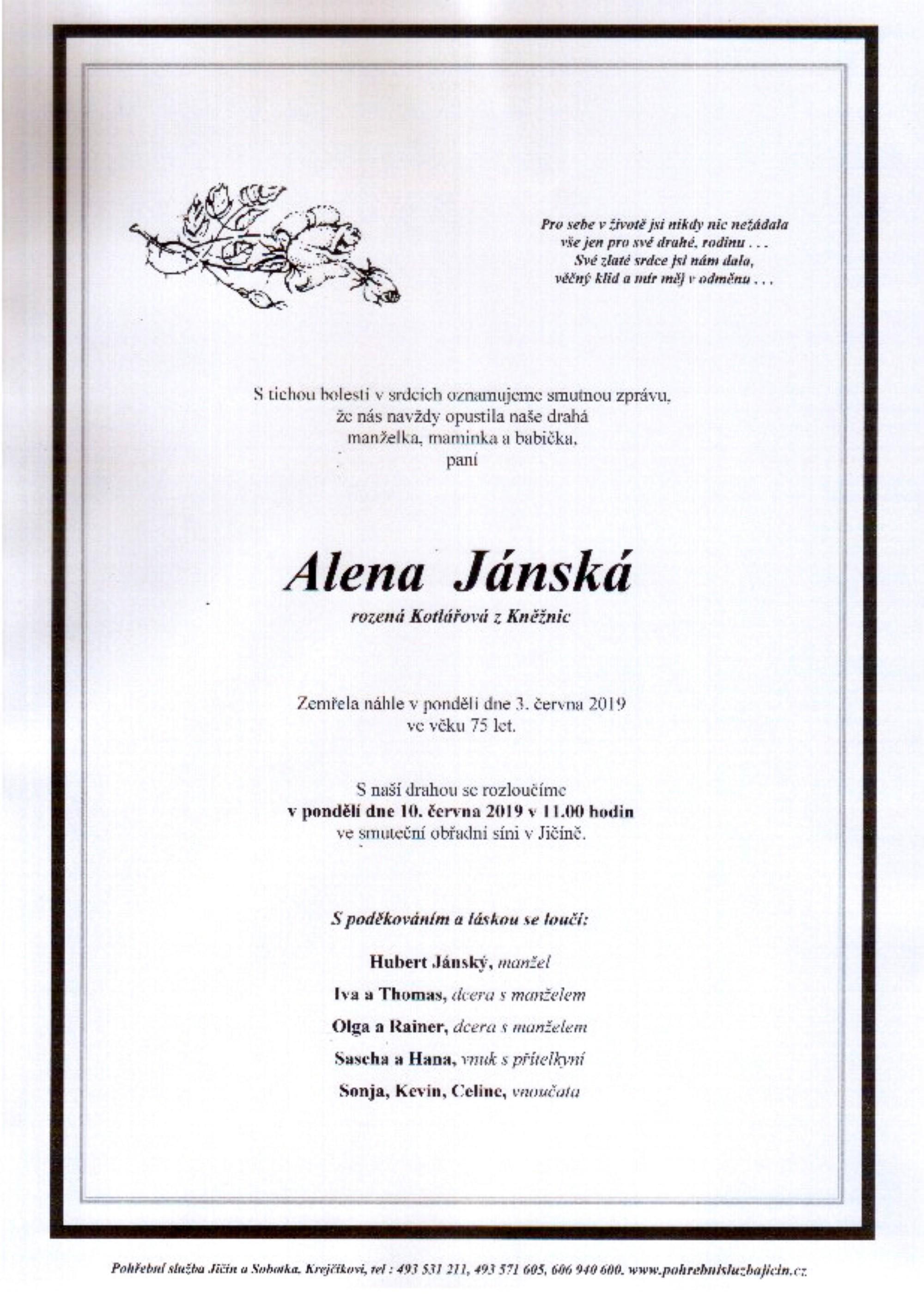 Alena Jánská