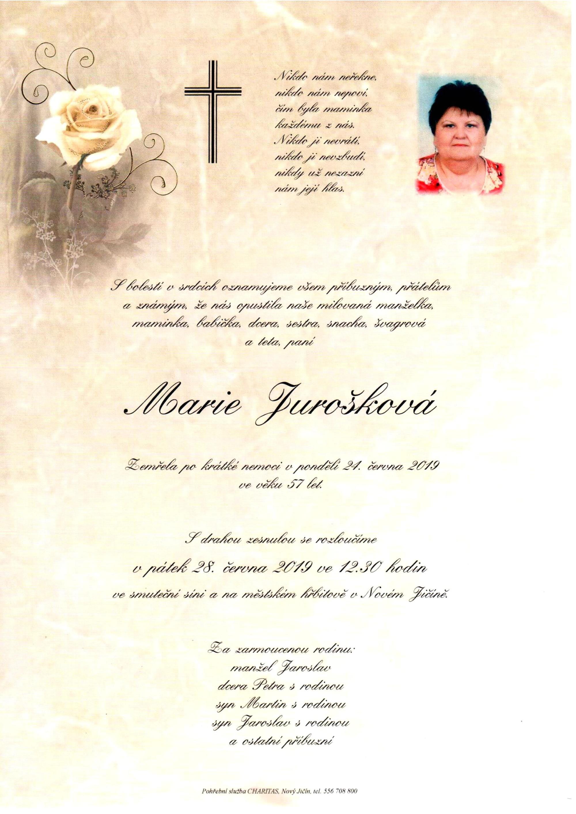 Marie Jurošková