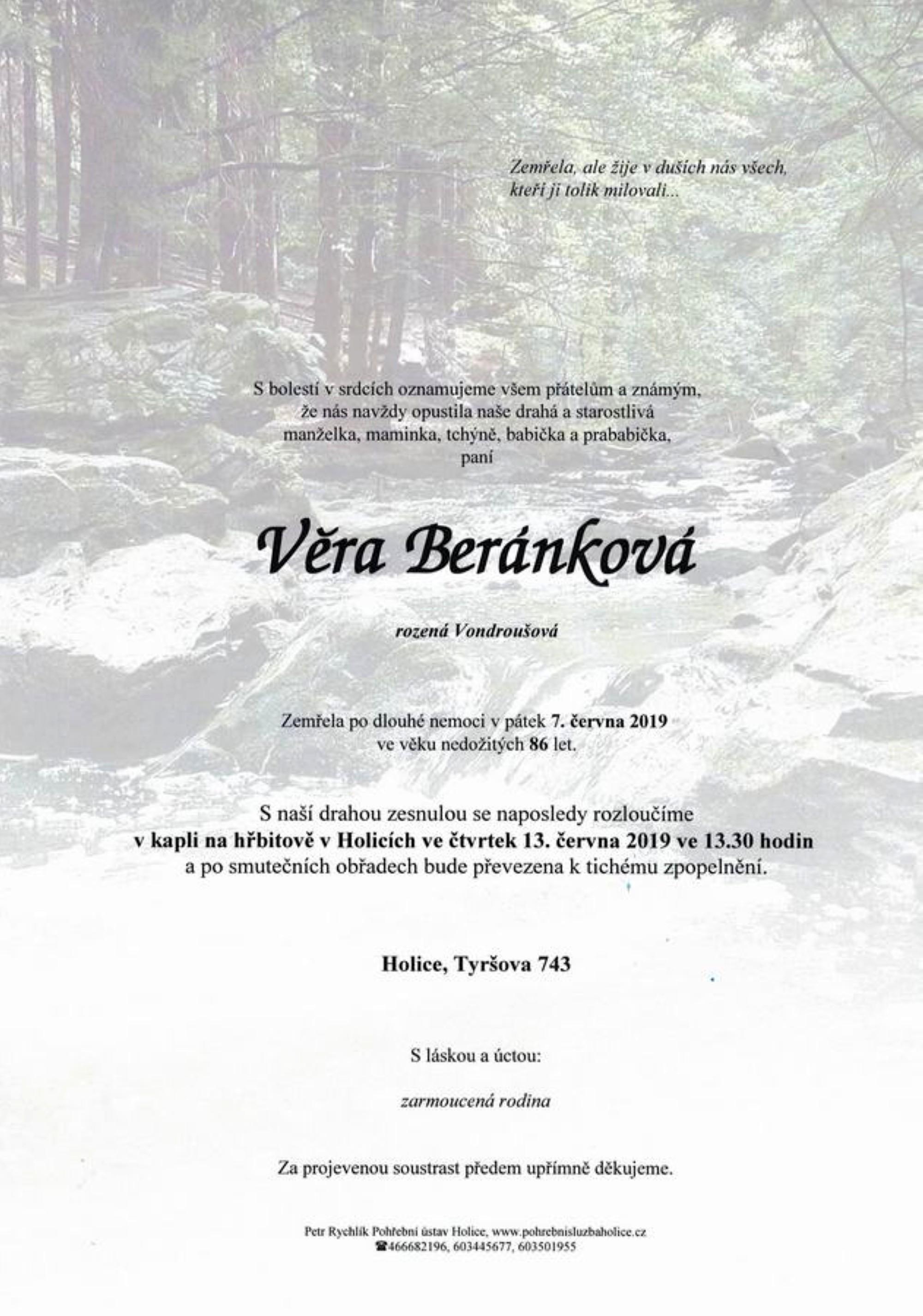 Věra Beránková