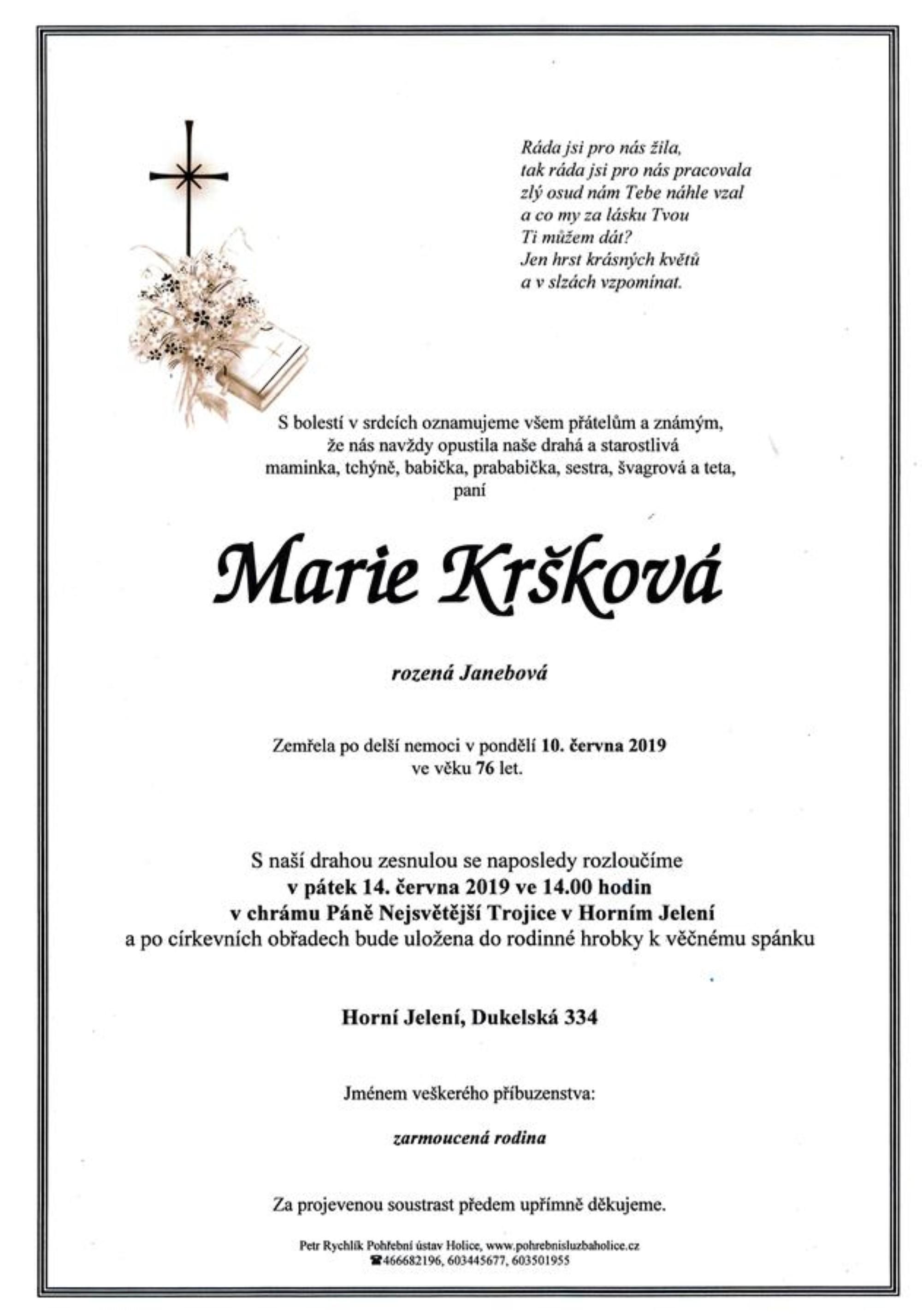 Marie Kršková