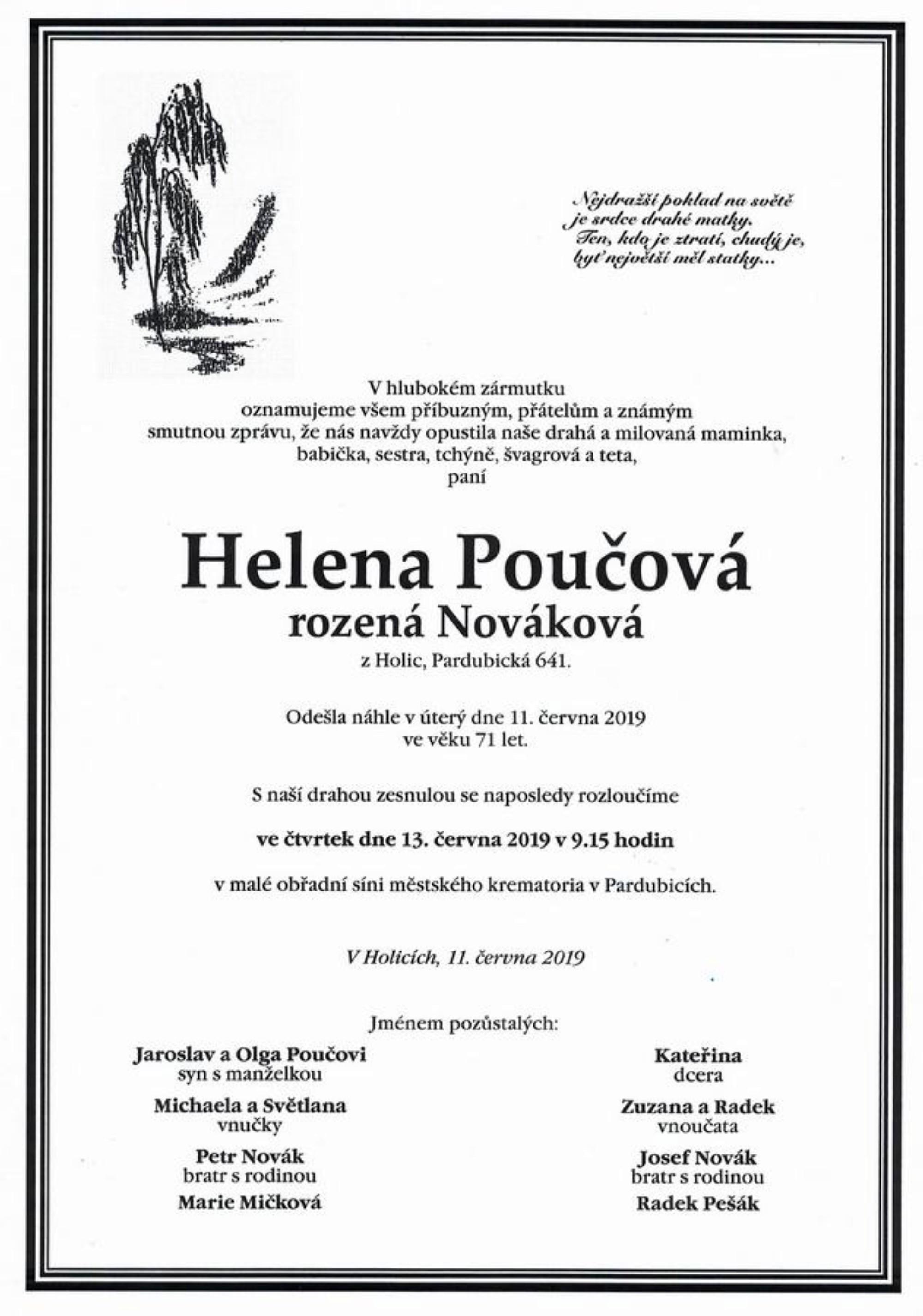 Helena Poučová