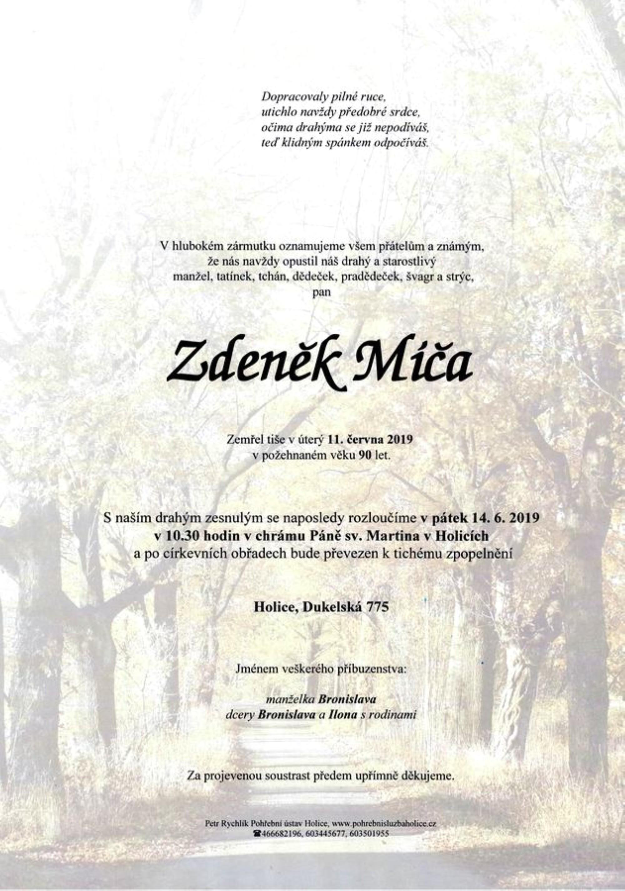 Zdeněk Míča