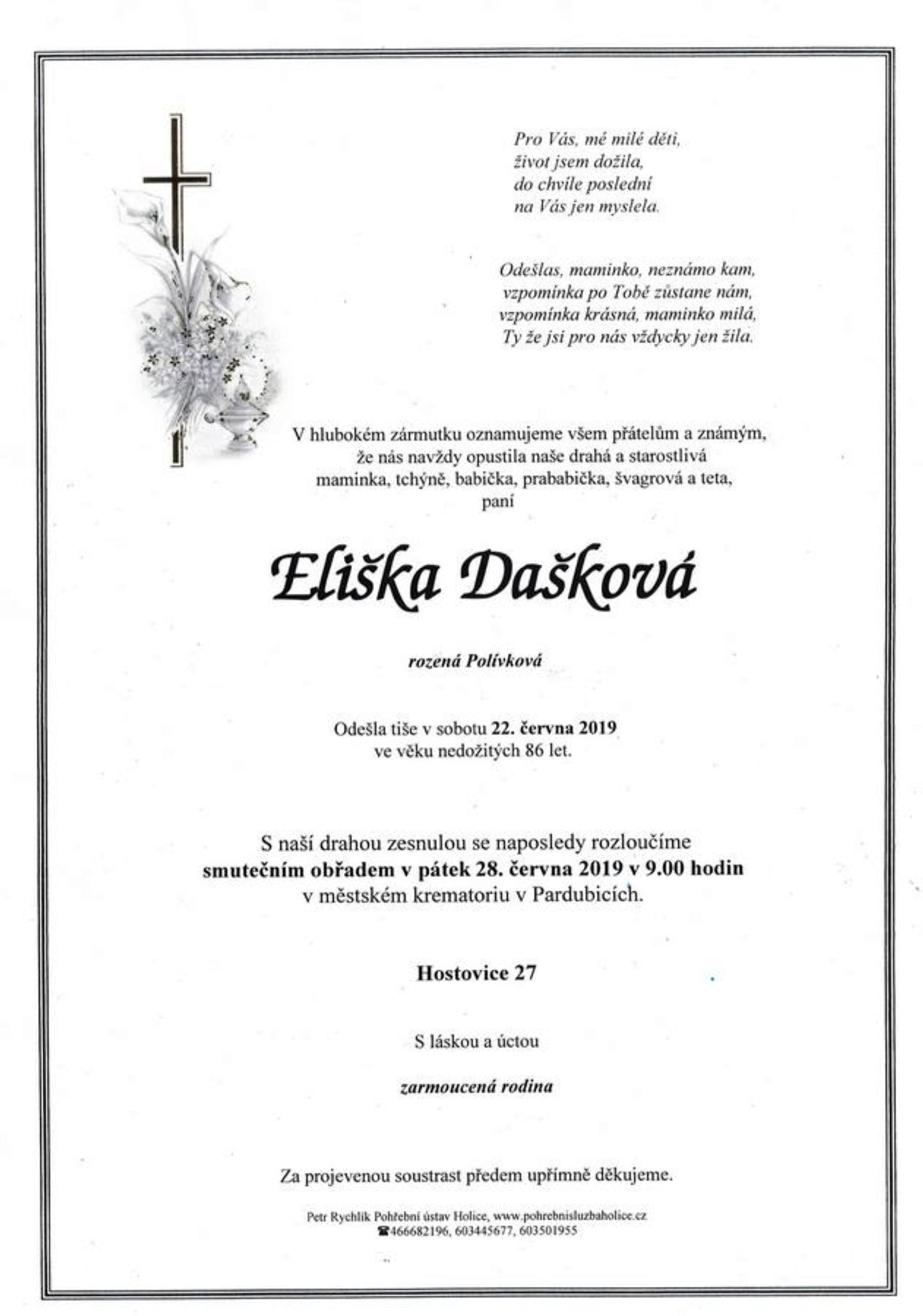 Eliška Dašková