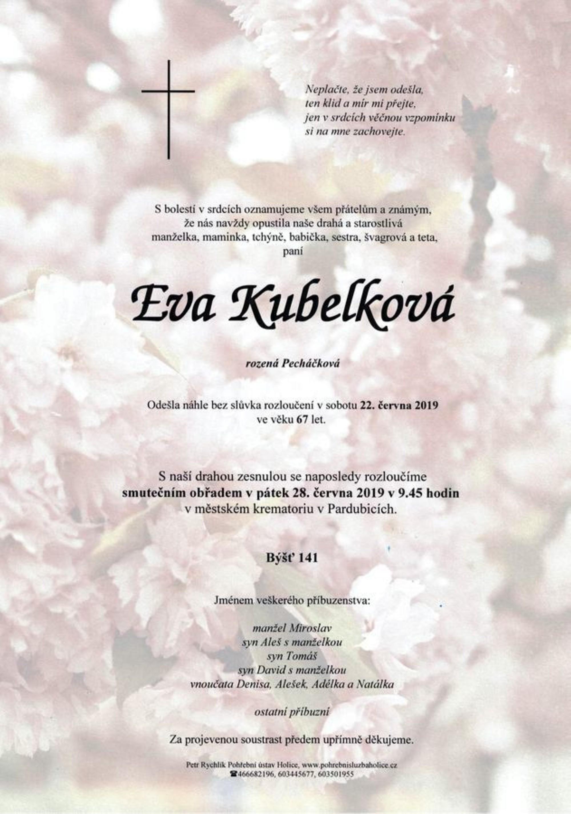 Eva Kubelková