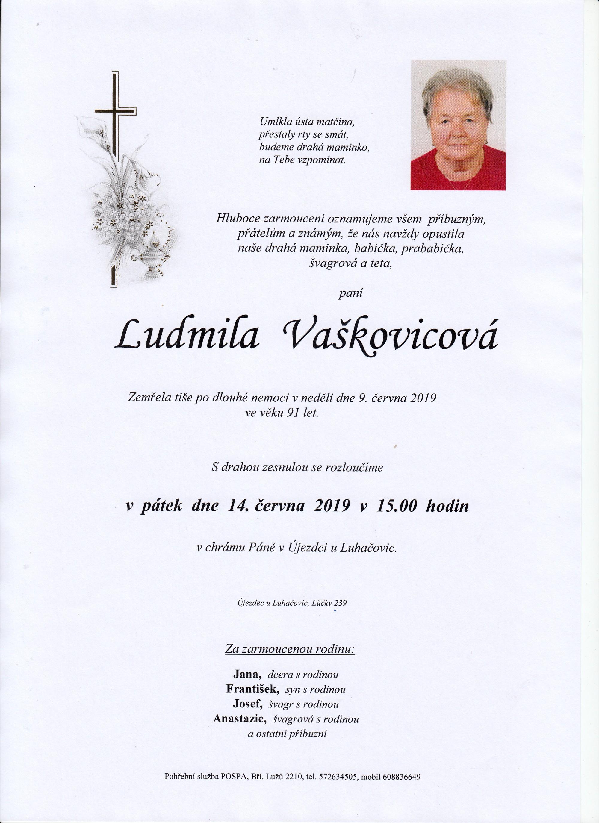 Ludmila Vaškovicová