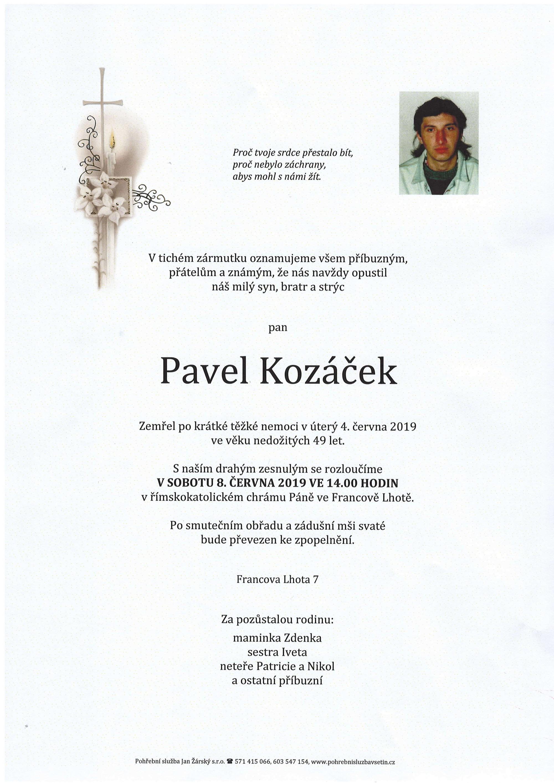 Pavel Kozáček