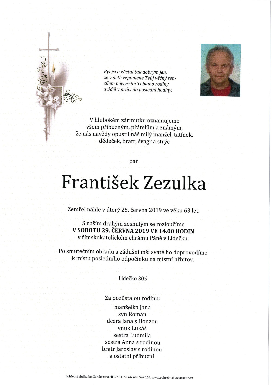 František Zezulka