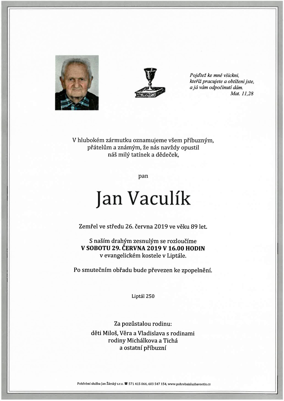 Jan Vaculík