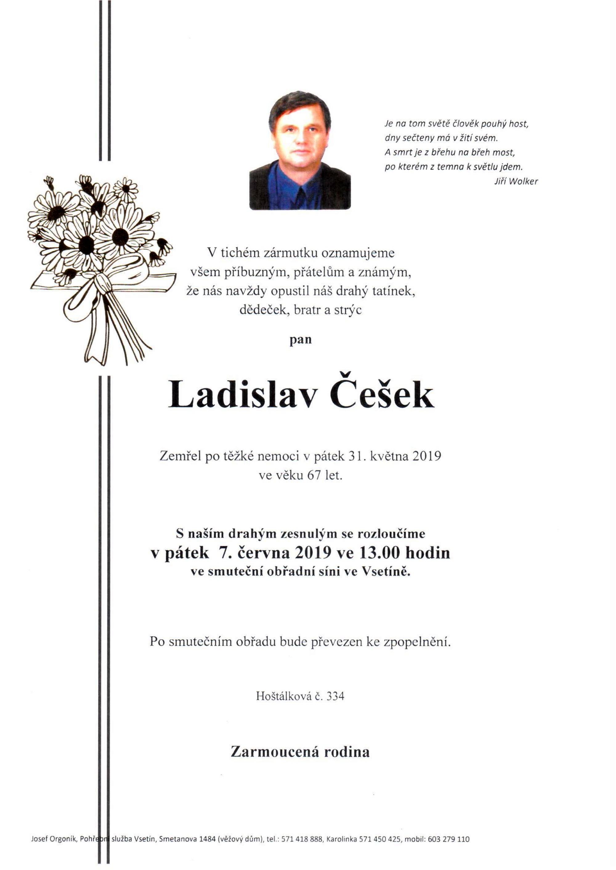 Ladislav Češek