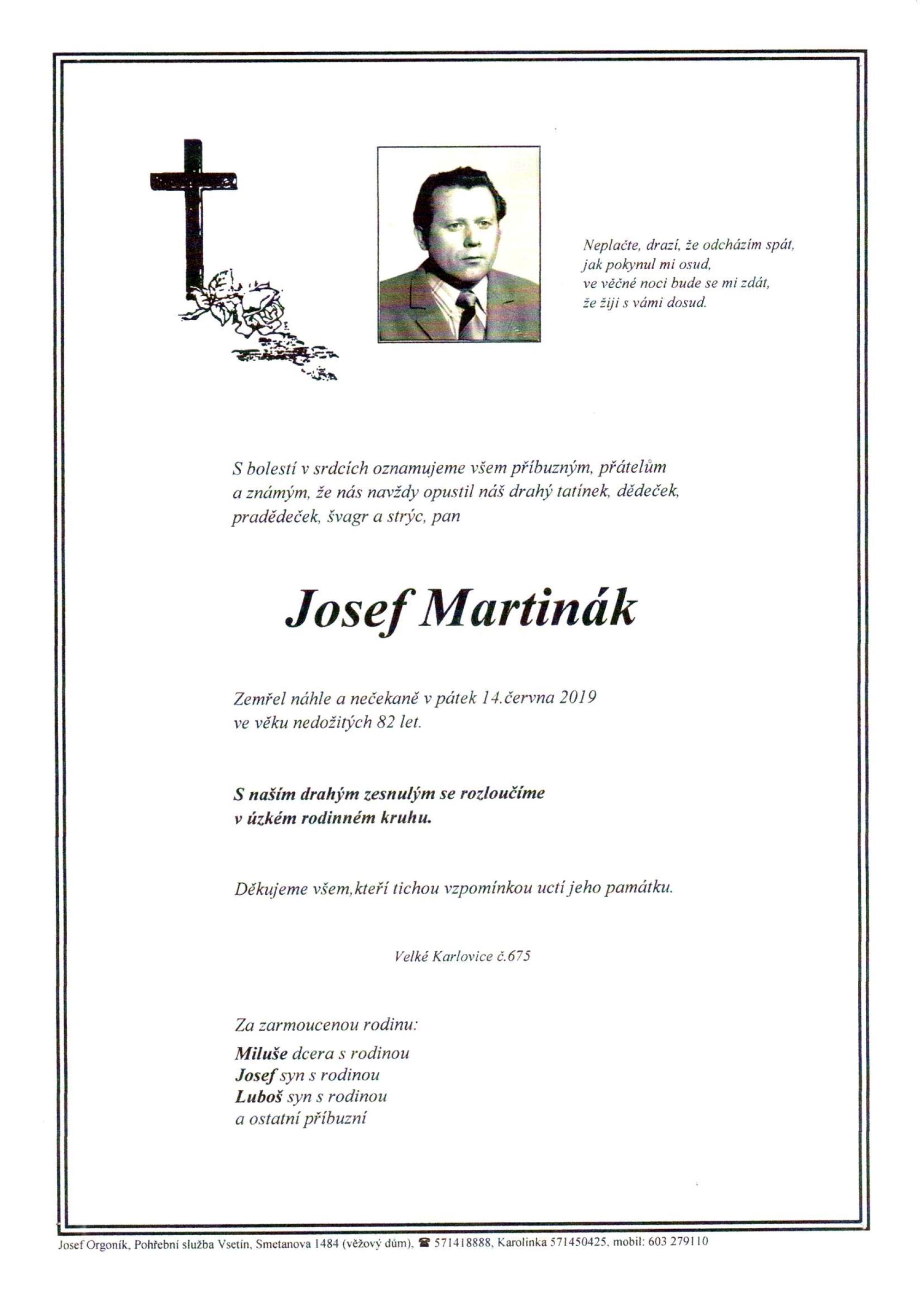Josef Martinák