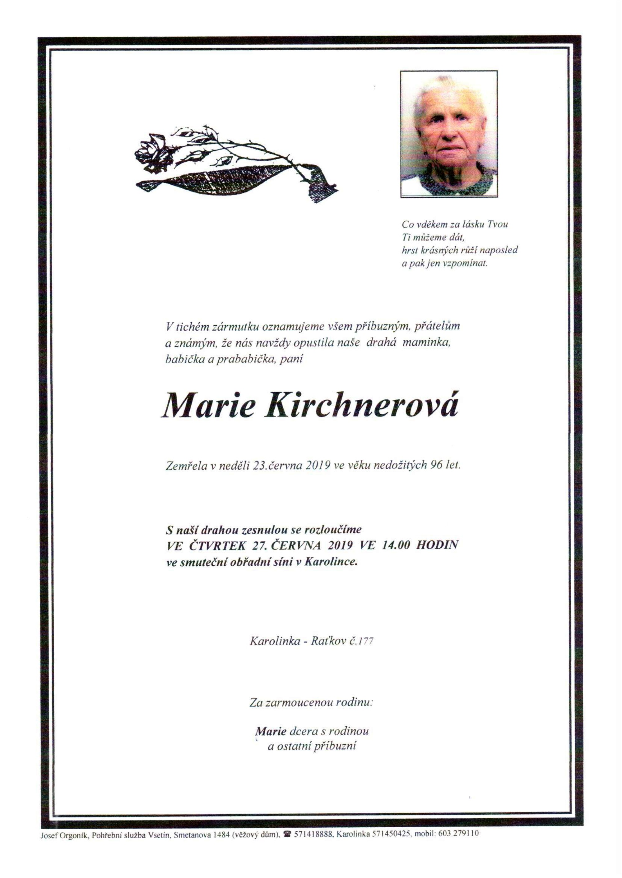 Marie Kirchnerová
