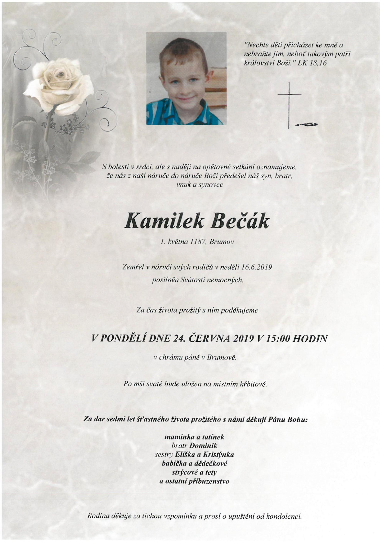 Kamilek Bečák