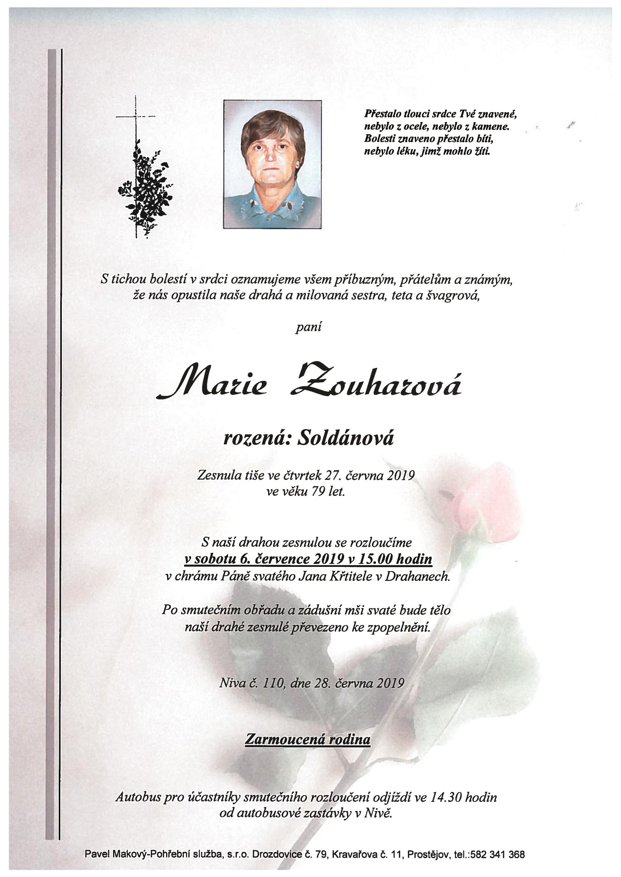 Marie Zouharová