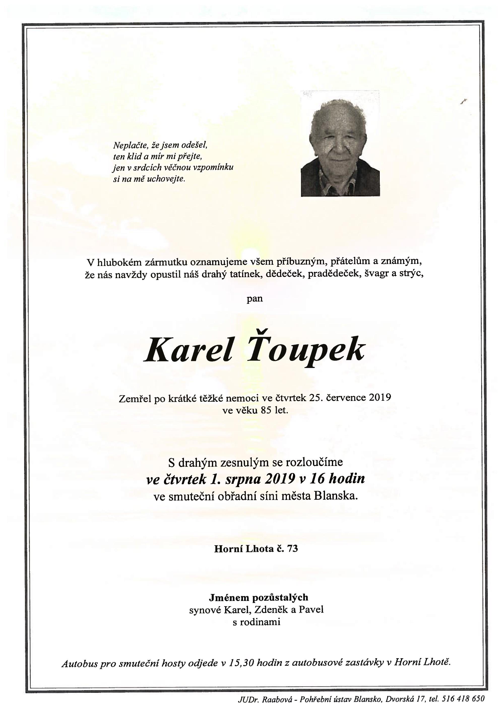 Karel Ťoupek