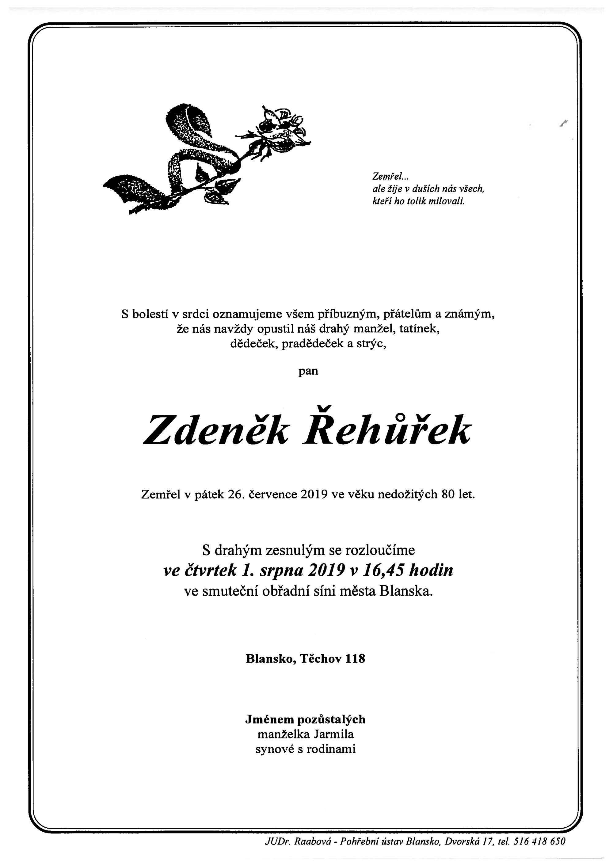 Zdeněk Řehůřek