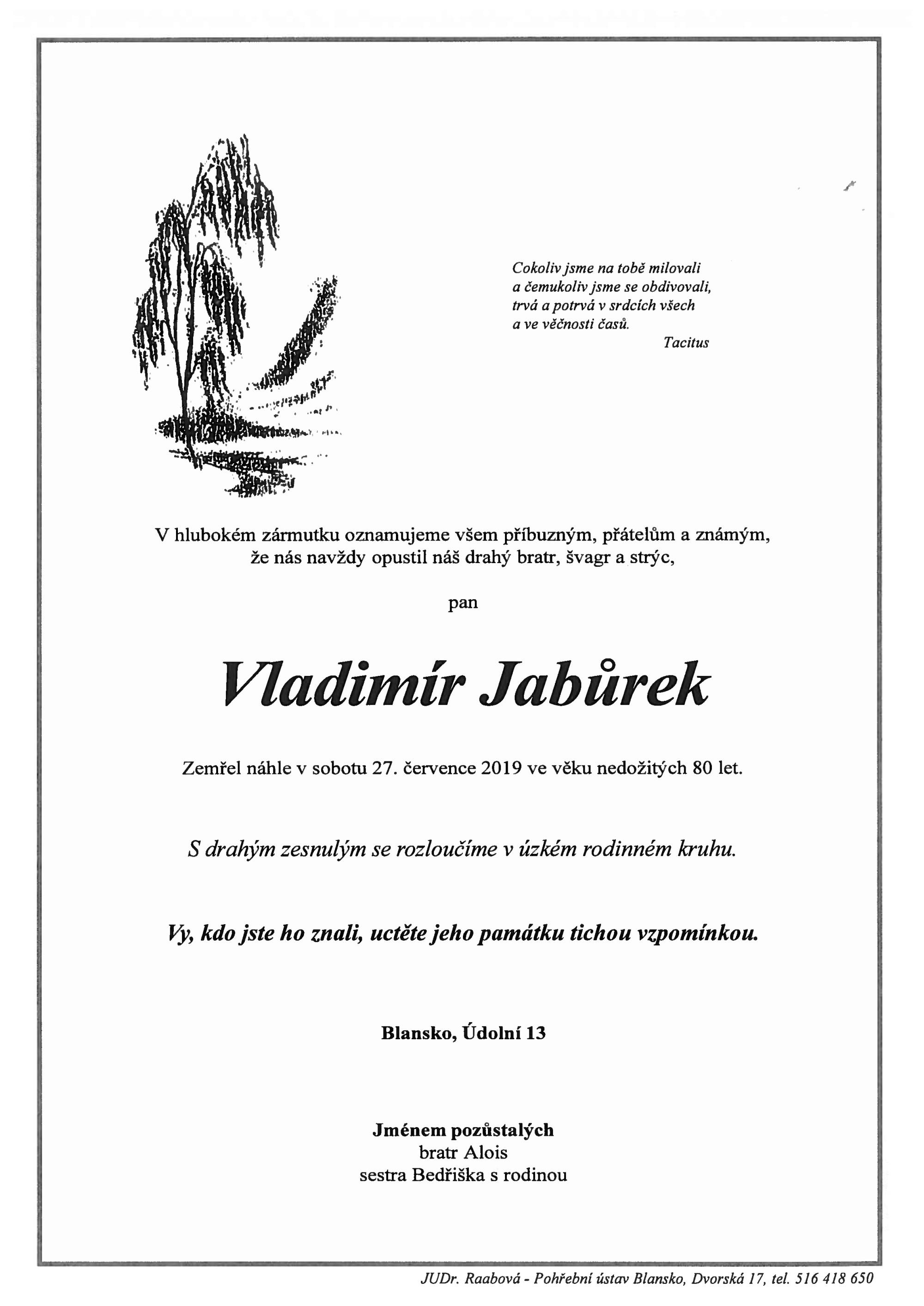 Vladimír Jabůrek