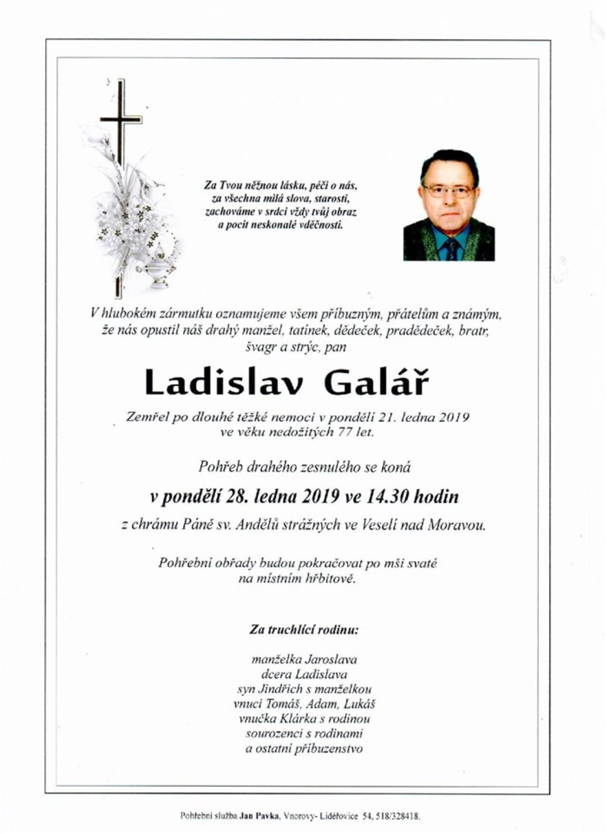 Ladislav Galář