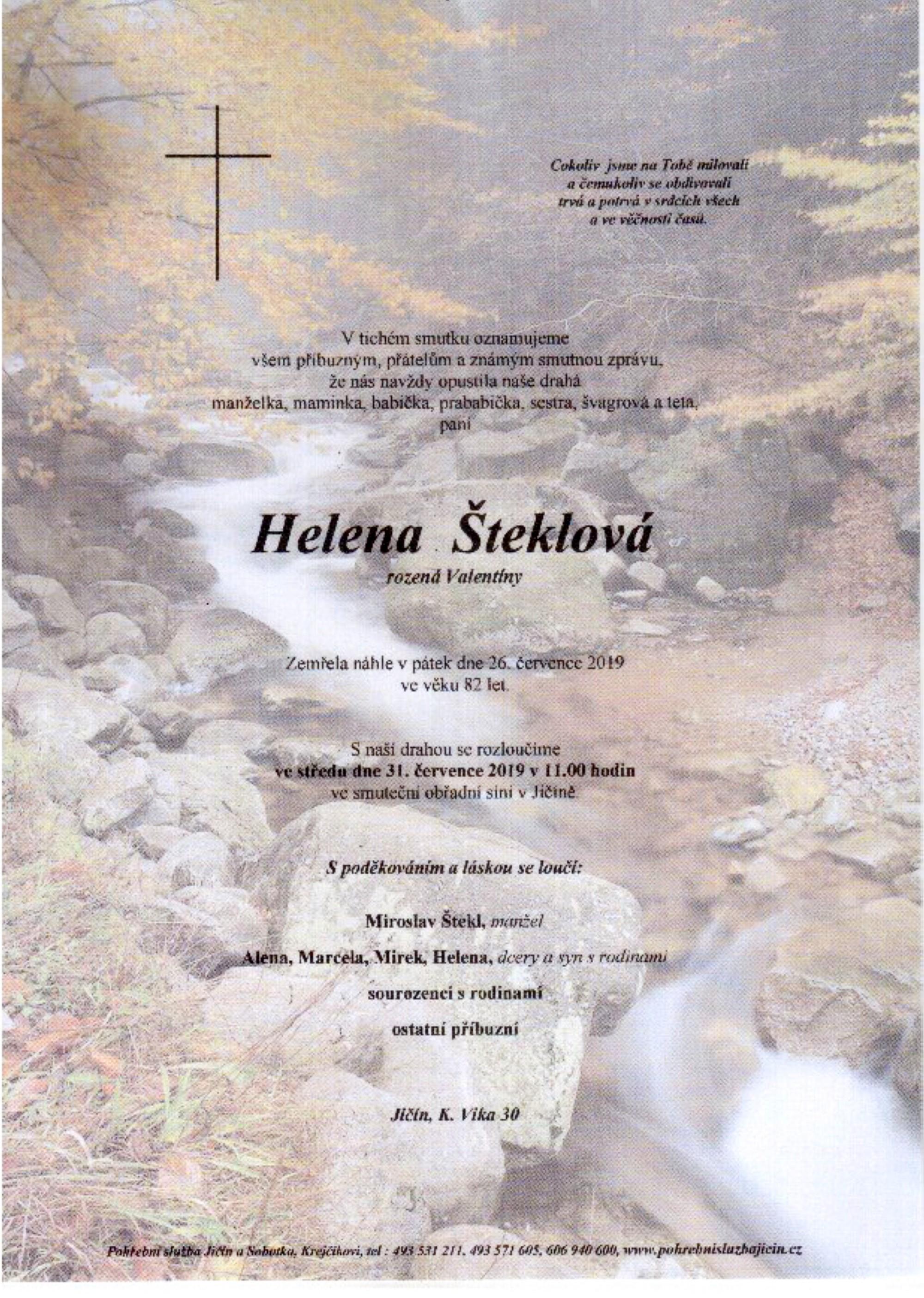 Helena Šteklová