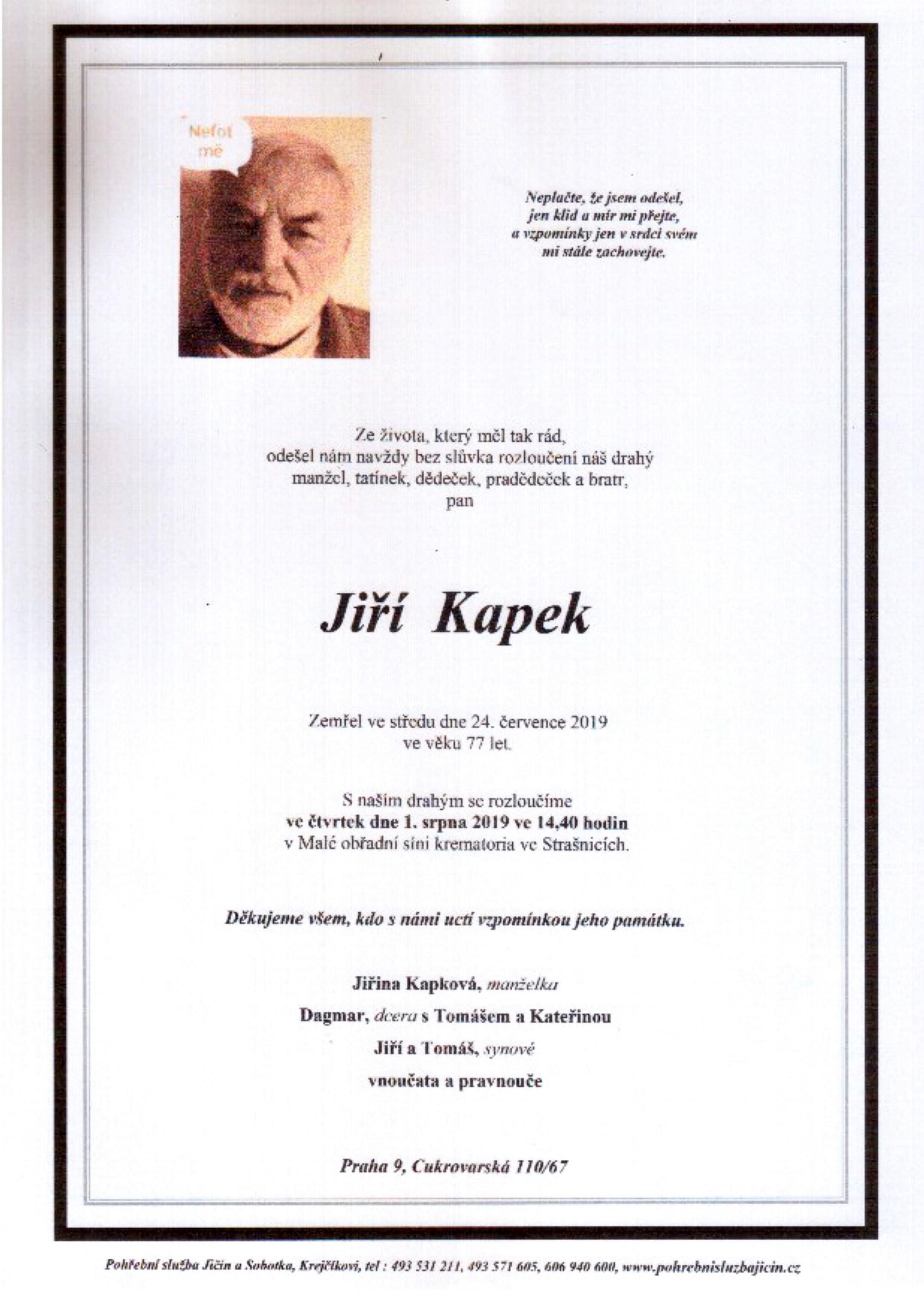 Jiří Kapek