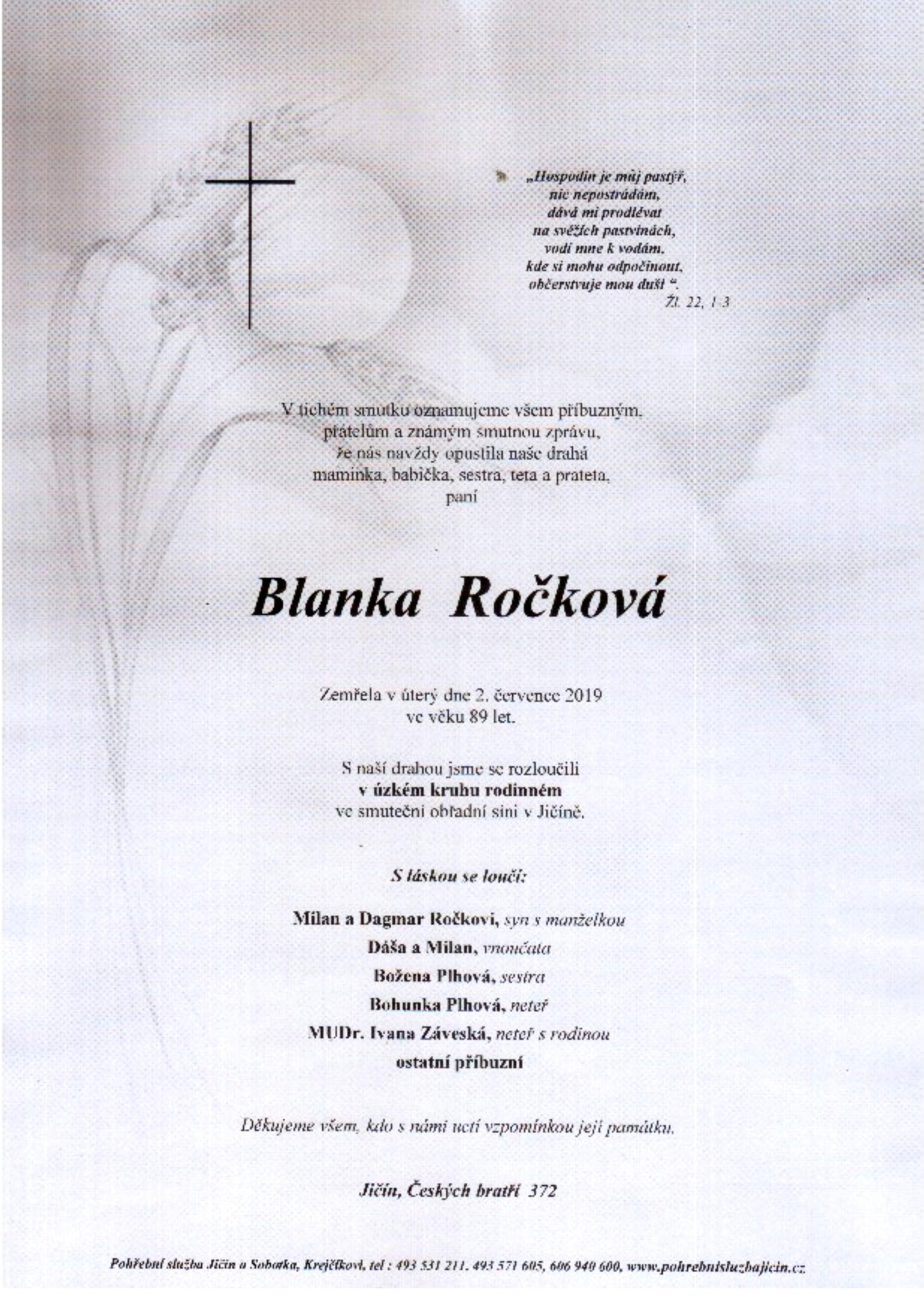 Blanka Ročková