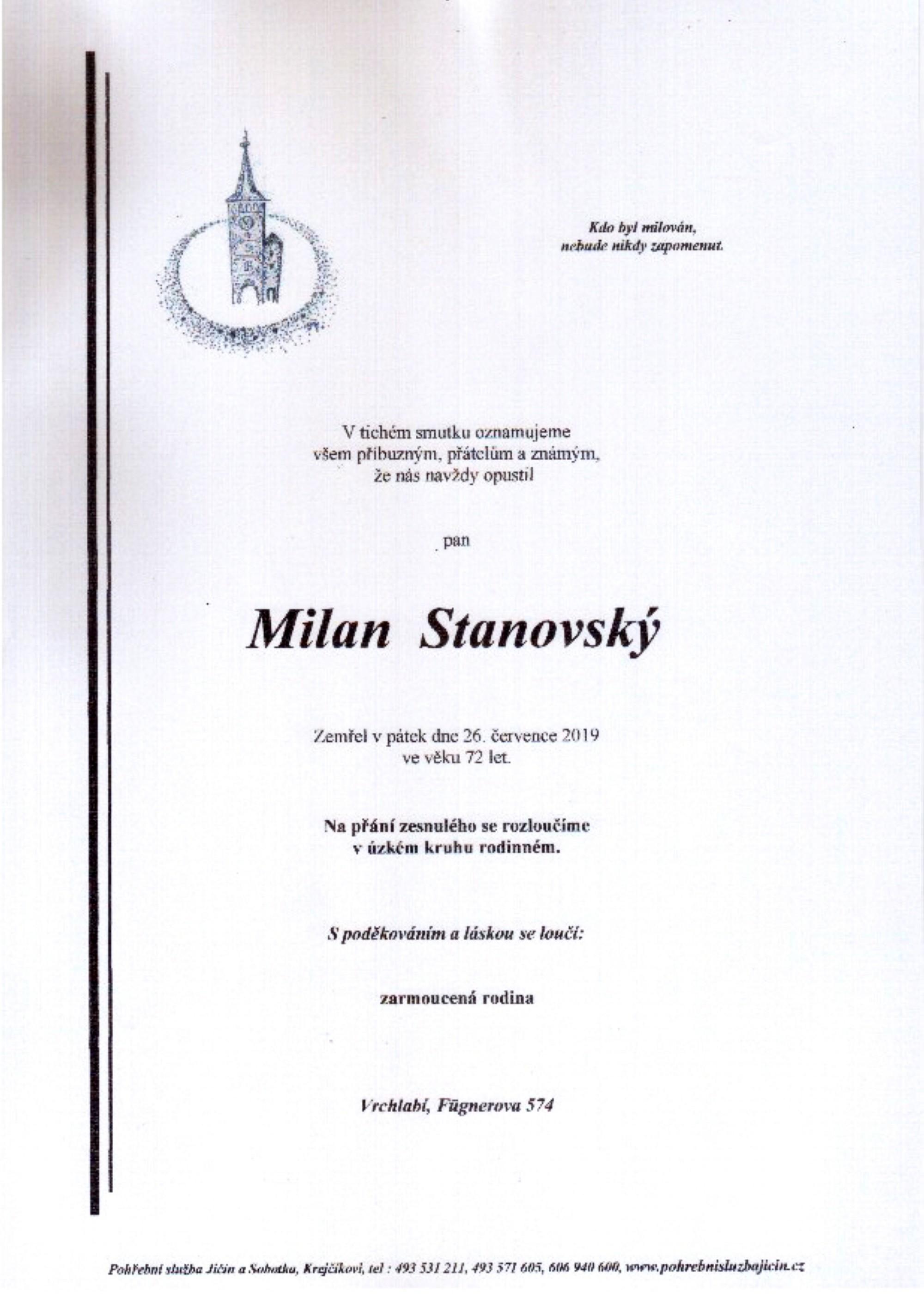 Milan Stanovský
