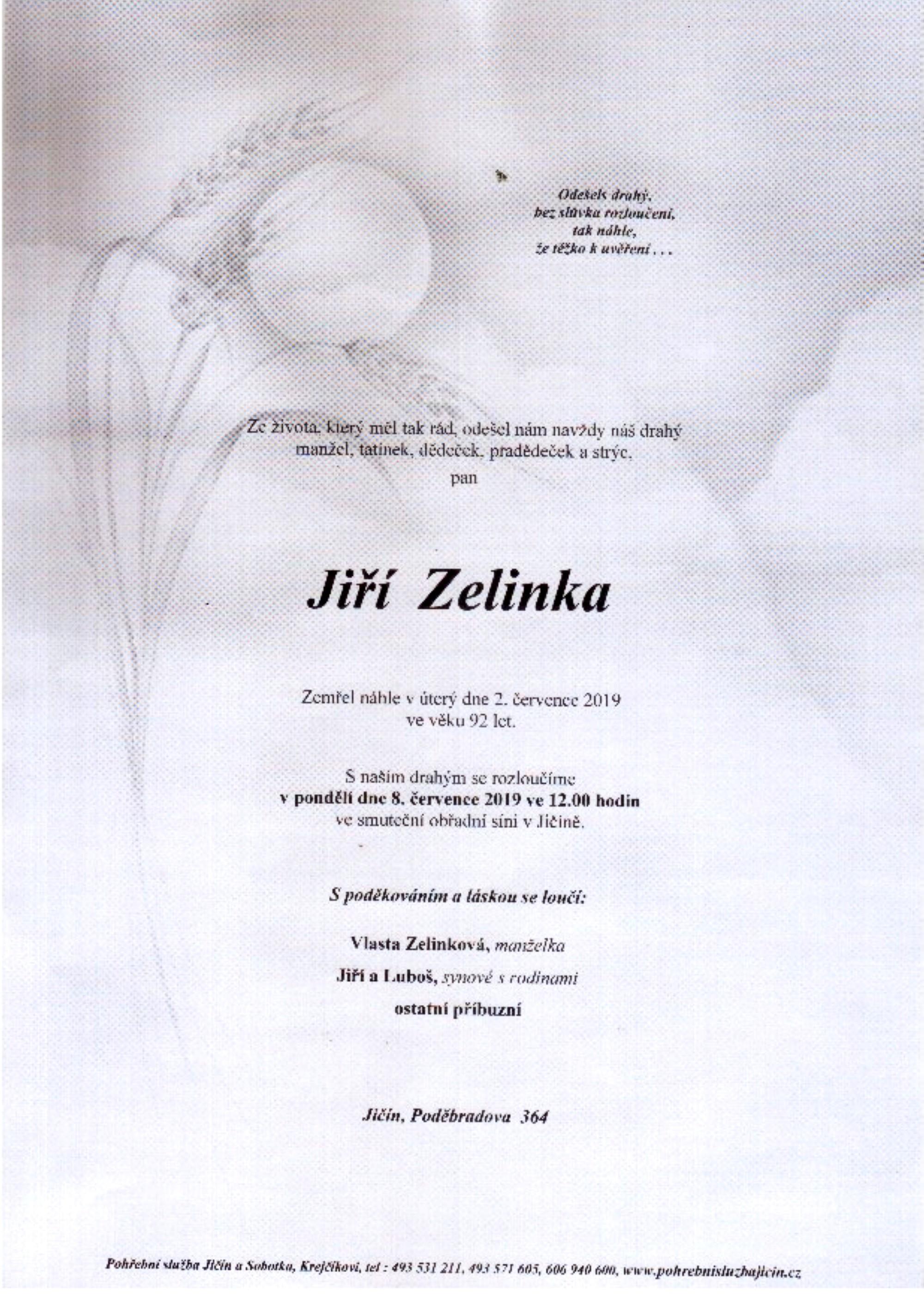 Jiří Zelinka