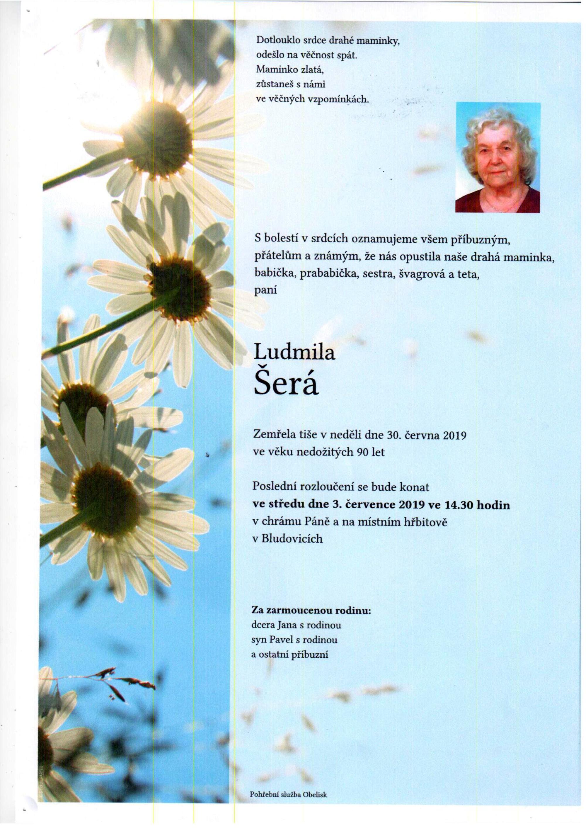 Ludmila Šerá