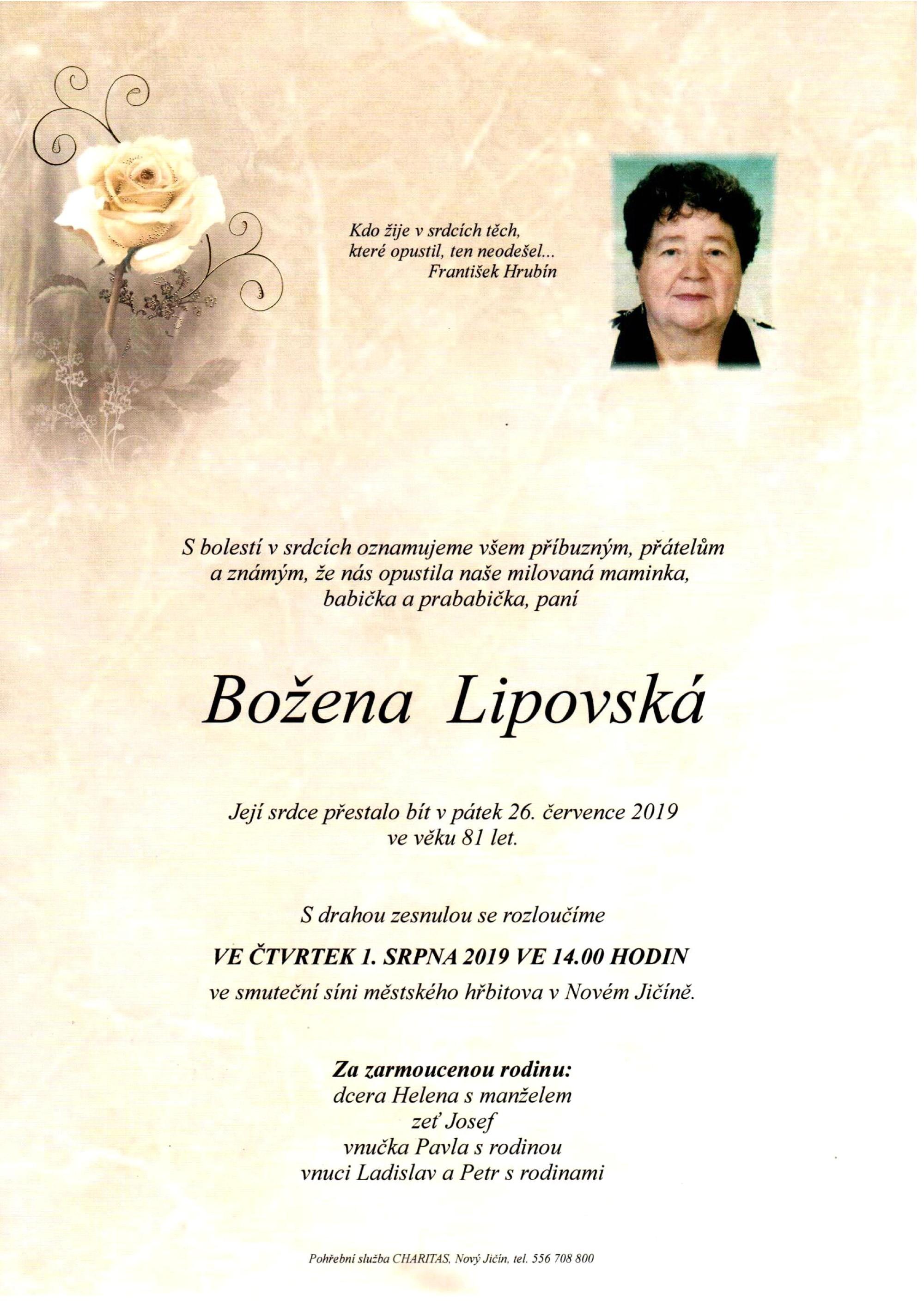 Božena Lipovská