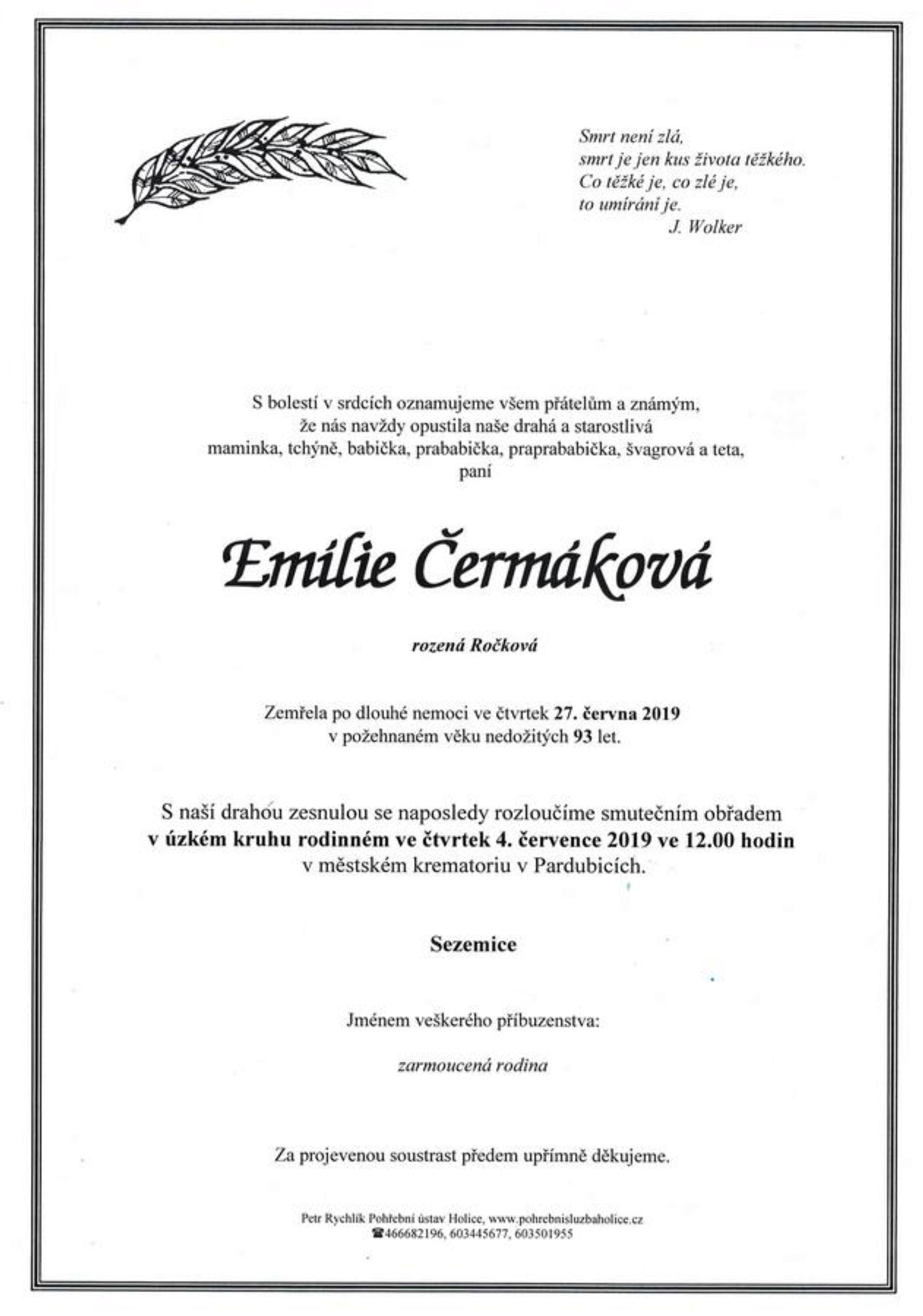 Emílie Čermáková