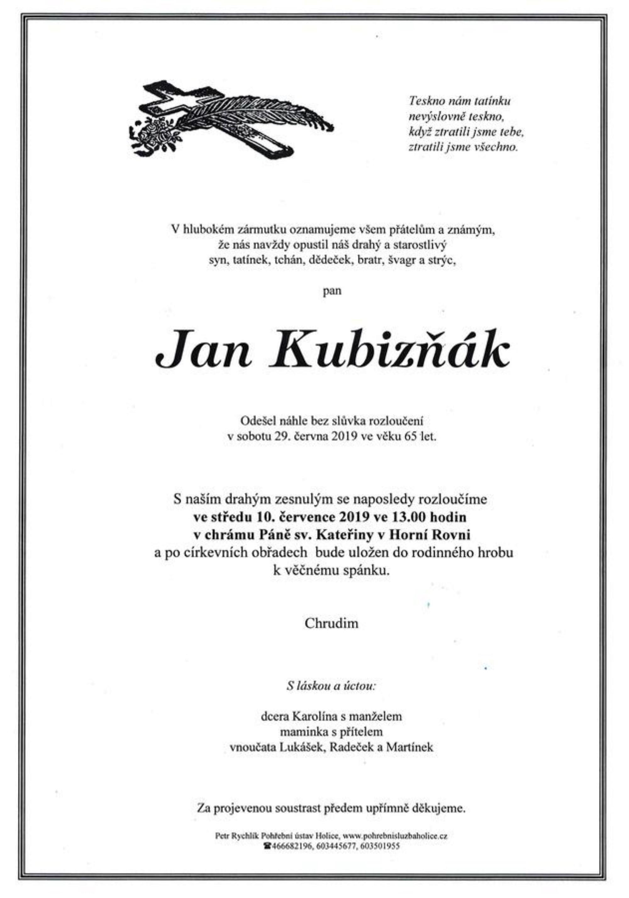 Jan Kubizňák