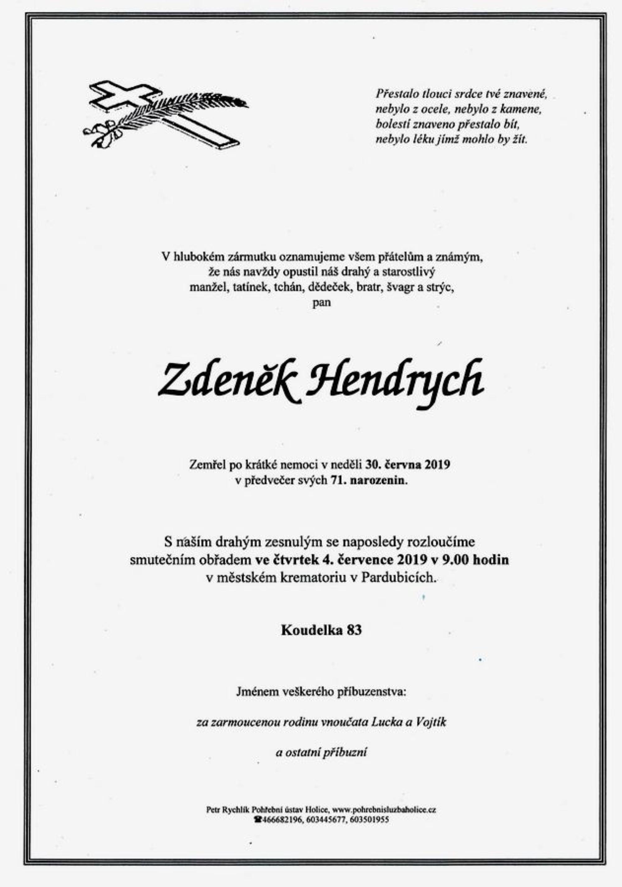 Zdeněk Hendrych